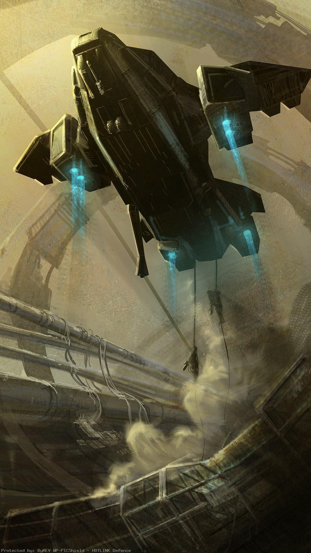 Artwork-liftoff-space-elevator-pelican-sandstorms-unsc-1080×1920-