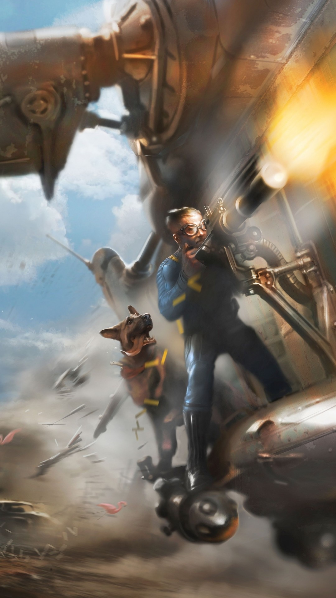 Fallout 4 – Apple/iPhone 6 – 750×1334 – 13 Wallpapers