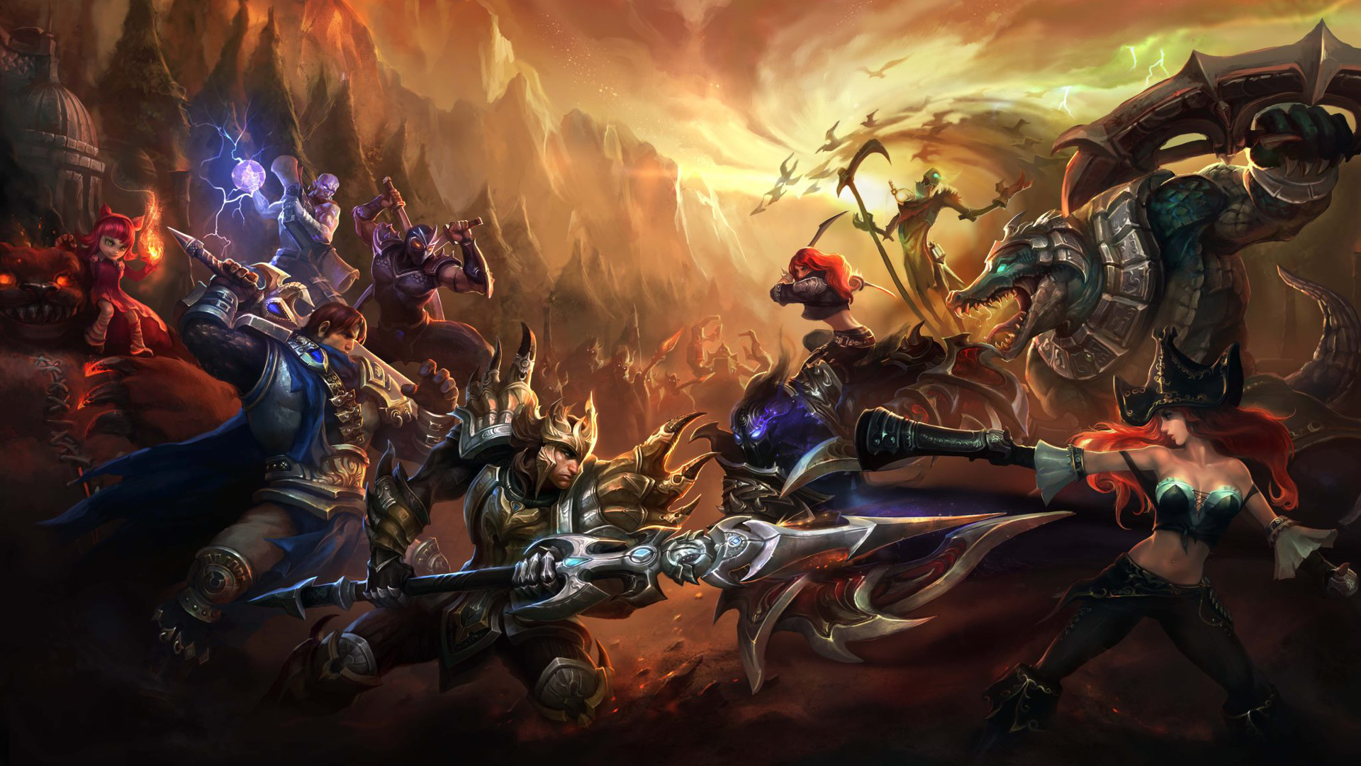 HD Wallpaper | Background ID:406838. Video Game League Of Legends