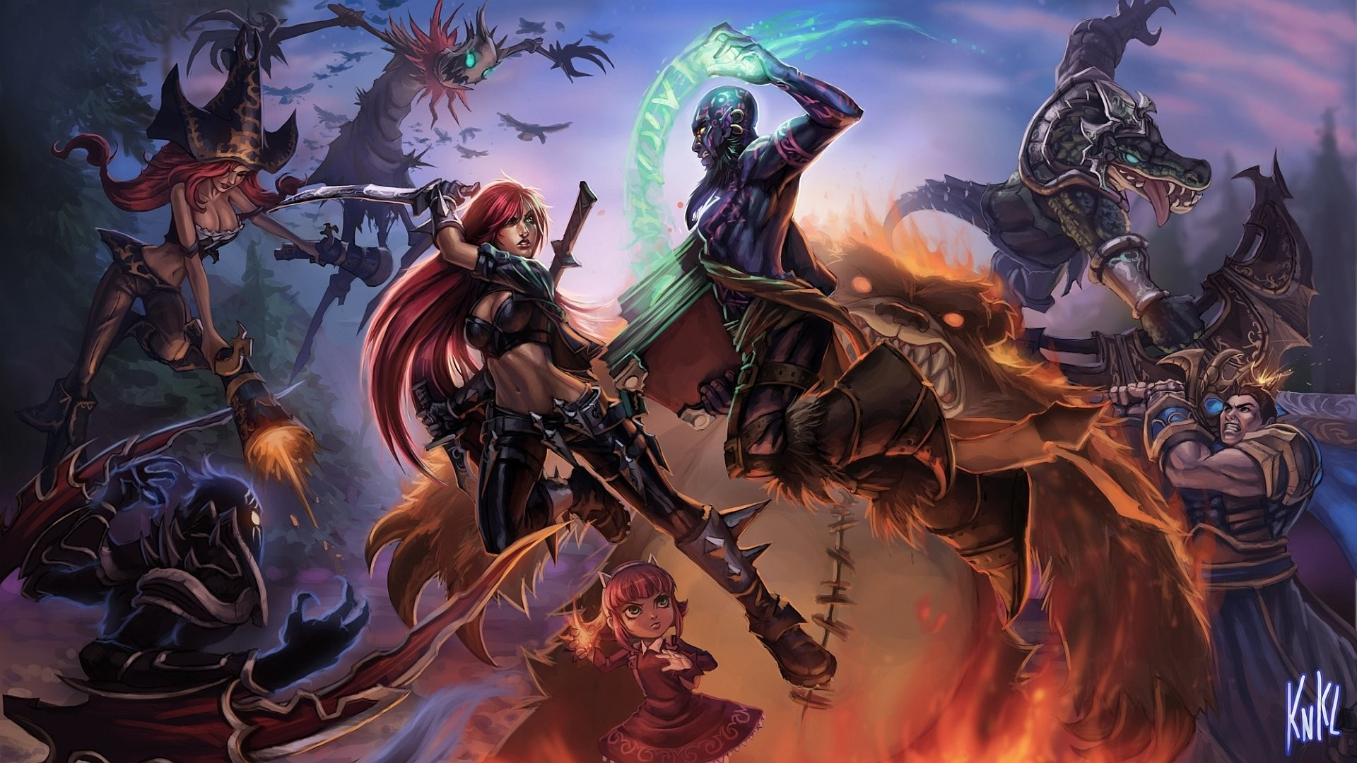 HD Wallpaper | Background ID:161494. Video Game League Of Legends