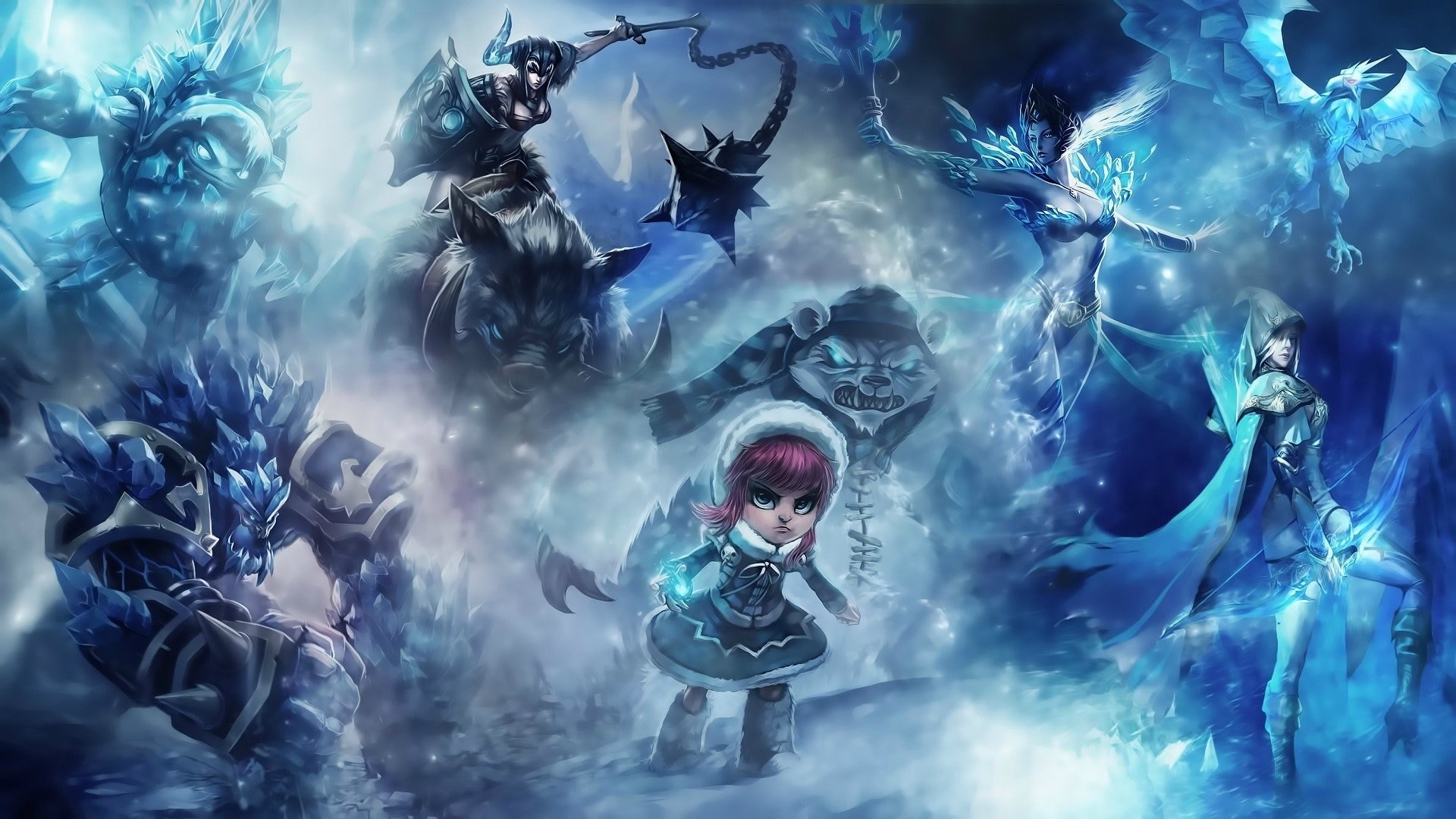 HD Wallpaper | Background ID:385539. Video Game League Of Legends