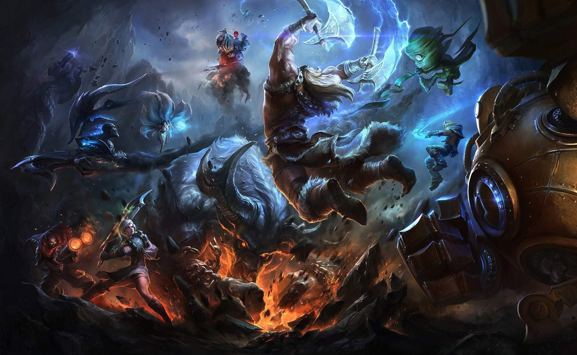 HD Wallpaper | Background ID:527597. Video Game League Of Legends