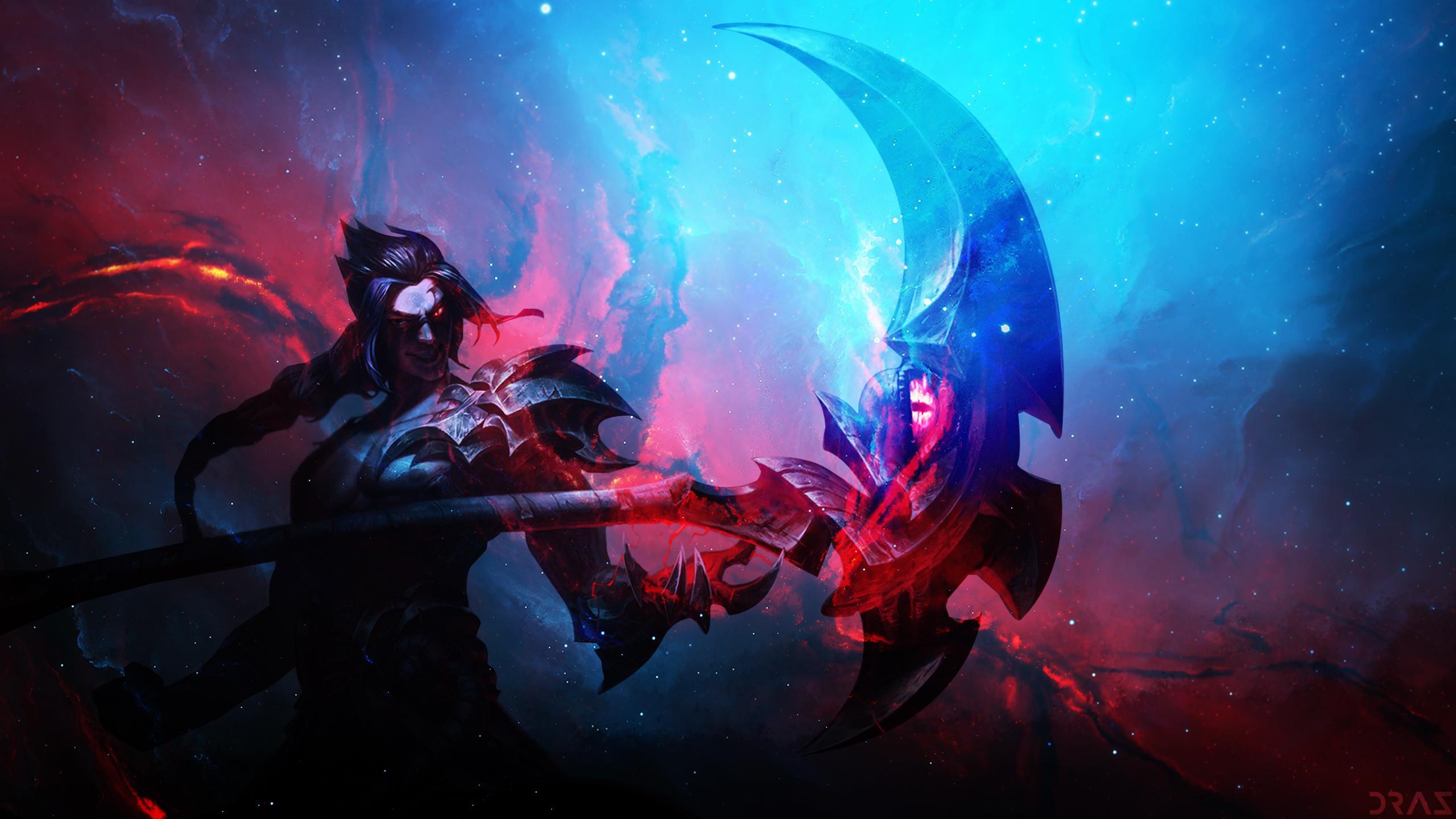 Kayn by Drazieth HD Wallpaper Background Fan Art Artwork League of Legends  lol