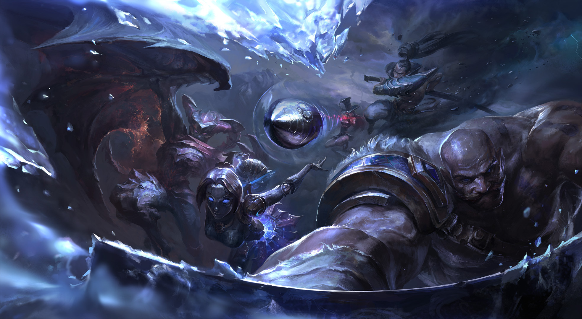 HD Wallpaper | Background ID:656584. Video Game League Of Legends