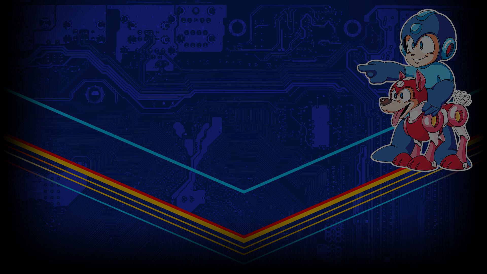 Mega Man Legacy Collection Rare Profile Background