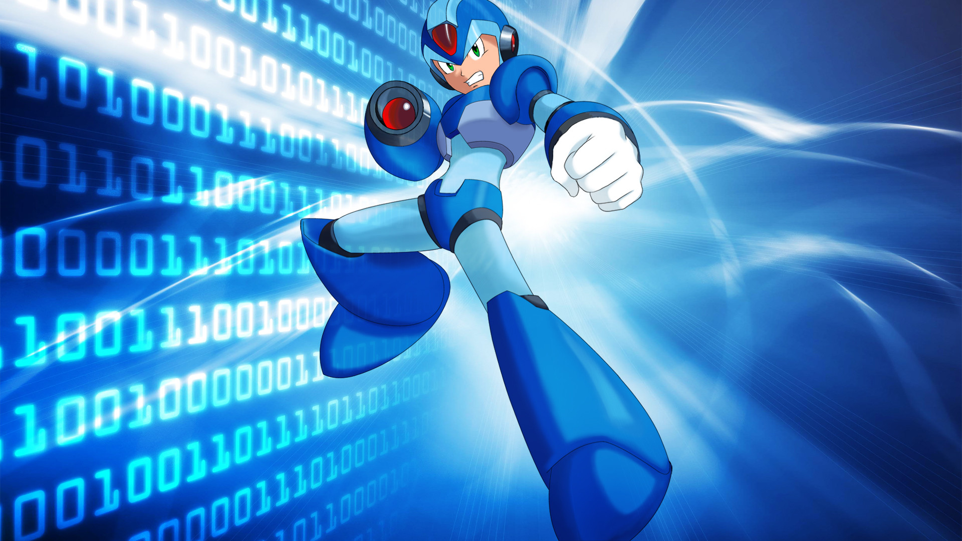 … Mega Man X Background by PookandPie