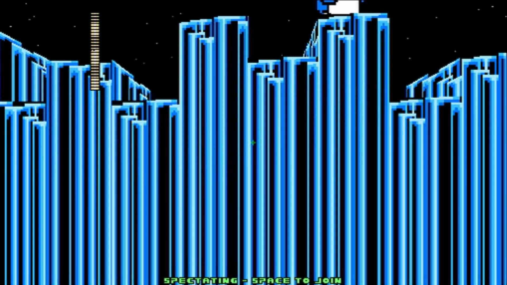 Mega Man 8-Bit Death Match – Gemini Man Stage BG Glitch