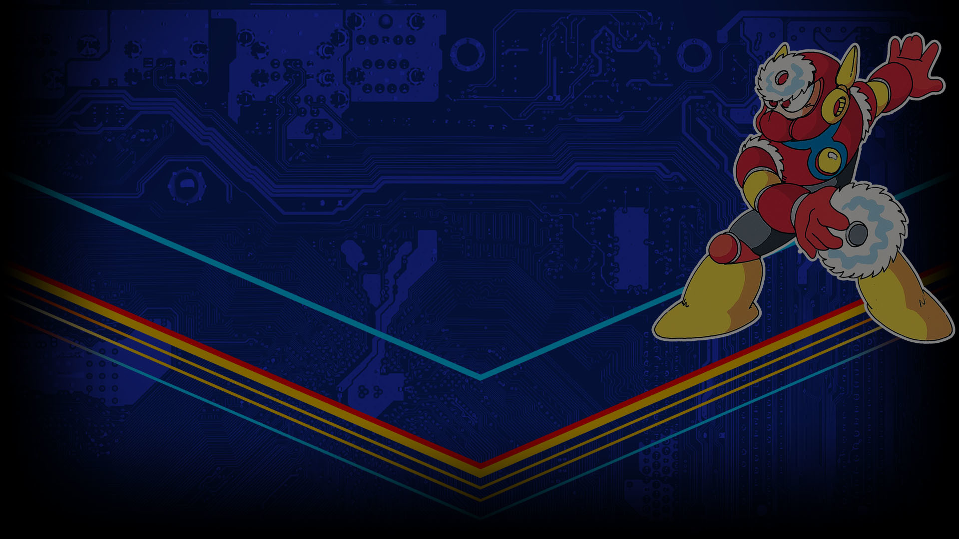 Mega Man Legacy Collection Uncommon Profile Background. View Full Size