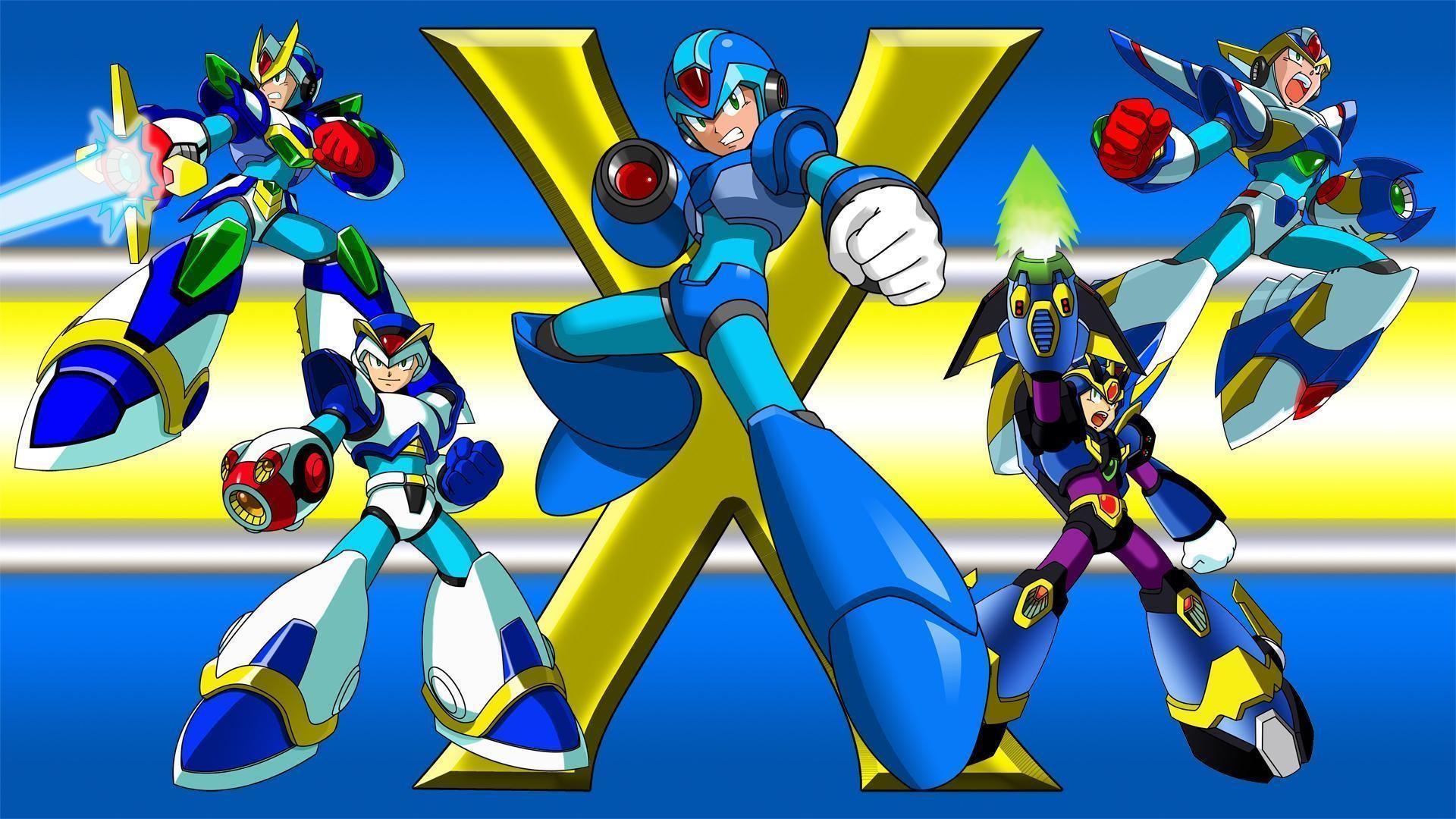 Mega Man X8 Background Free Download by Donella Kanter
