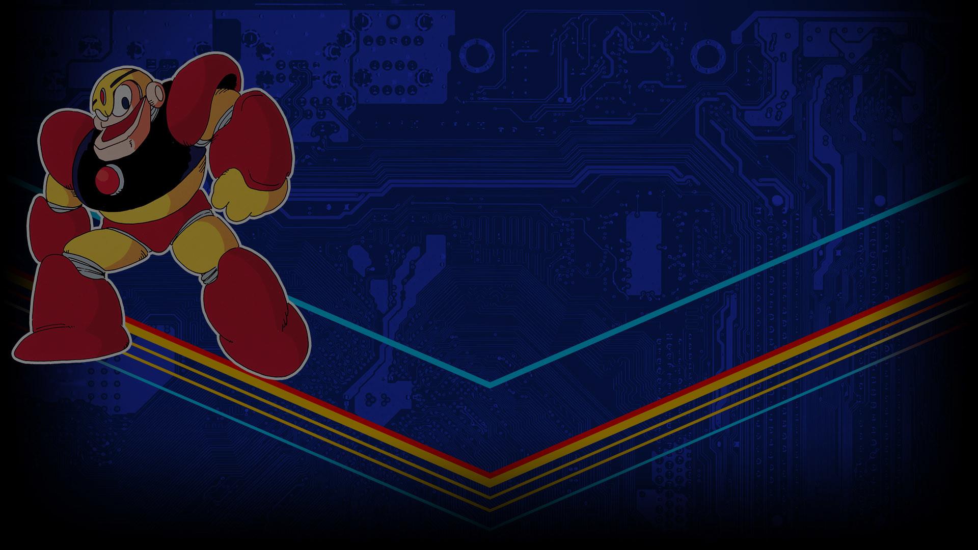 Mega Man Legacy Collection Profile Background