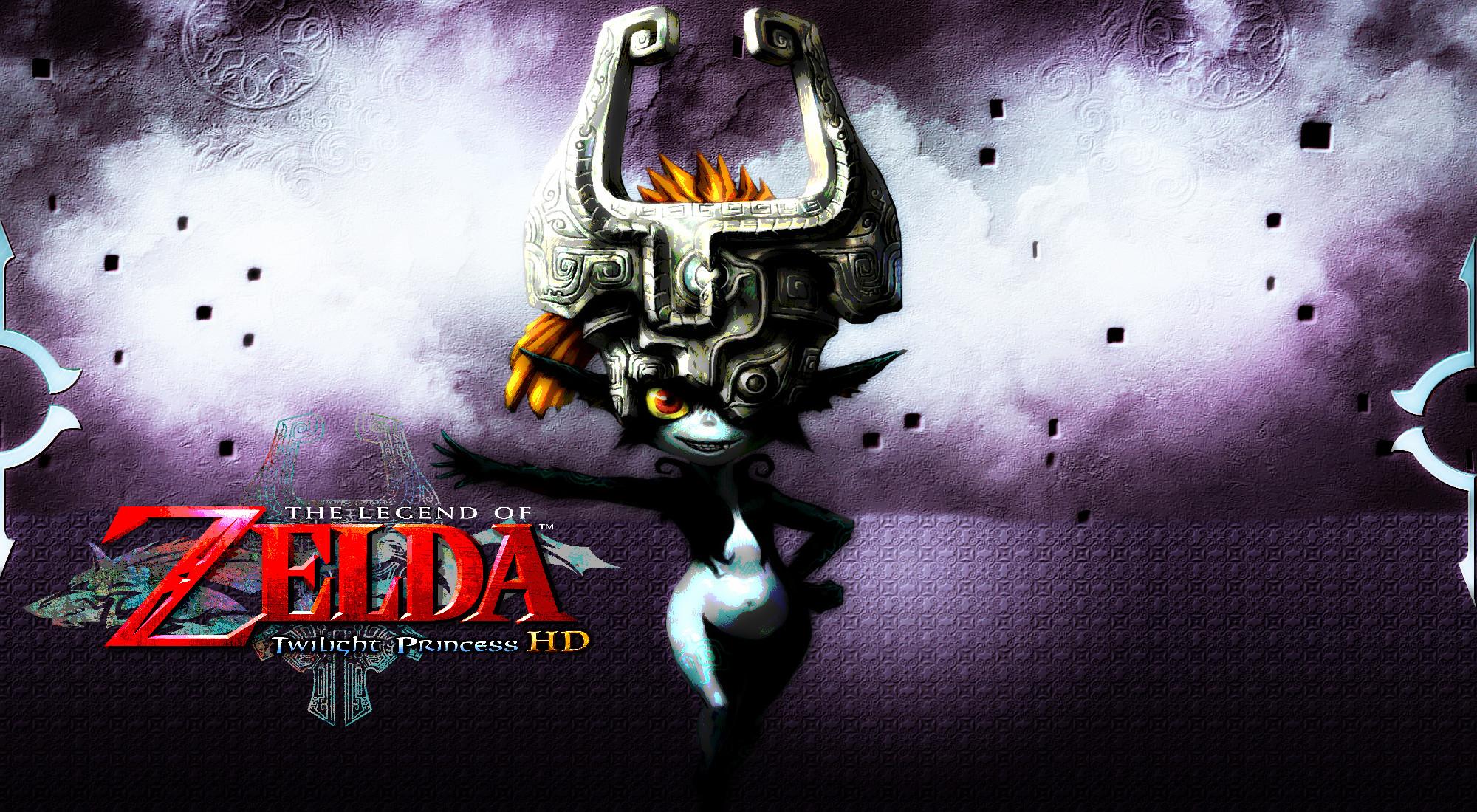 … Zelda: Twilight Princess HD – Midna Wallpaper by DaKidGaming