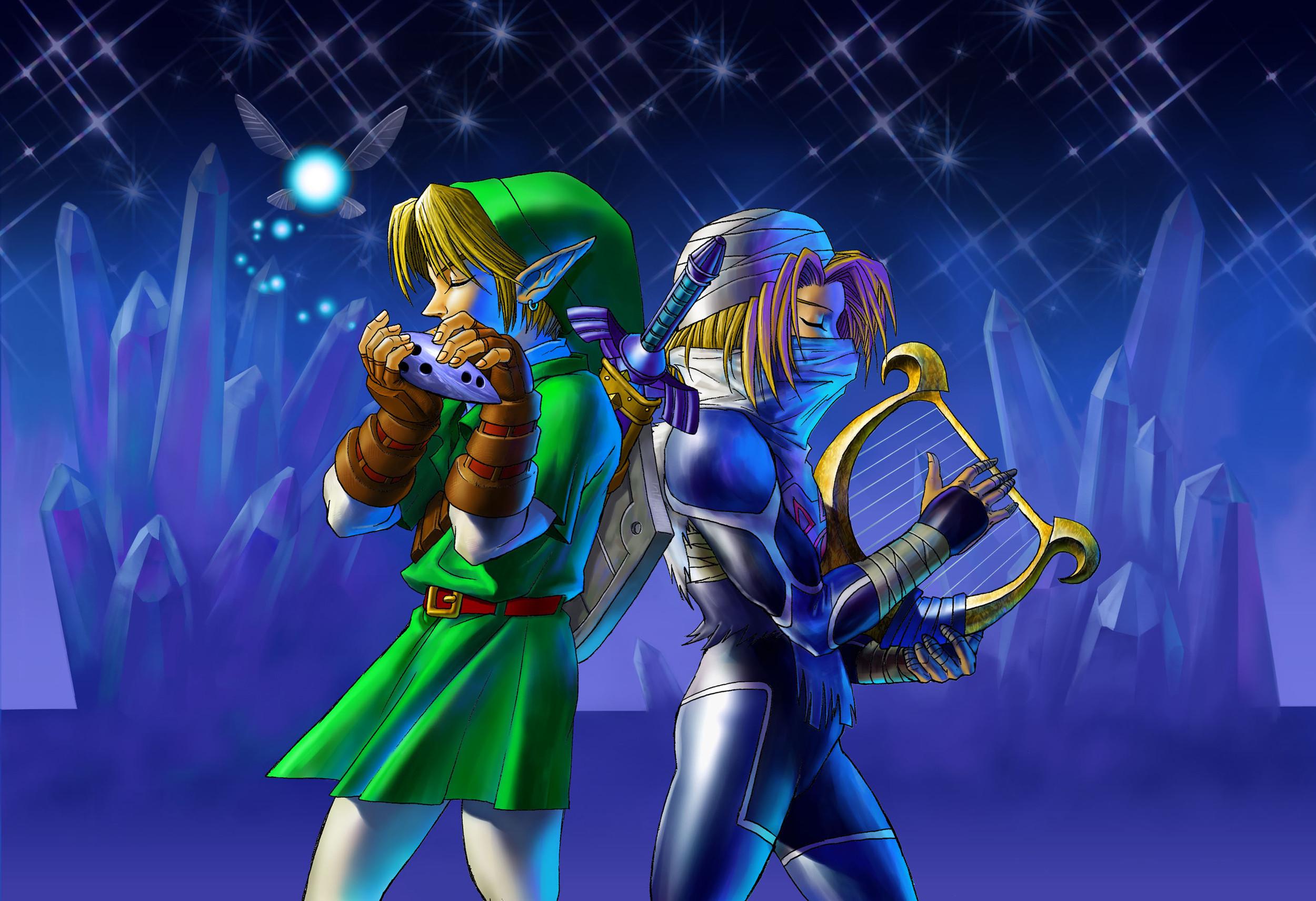 Download Zelda Ocarina of Time 3D Artwork Wallpaper HD & Widescreen The  Legend of Zelda Adventure