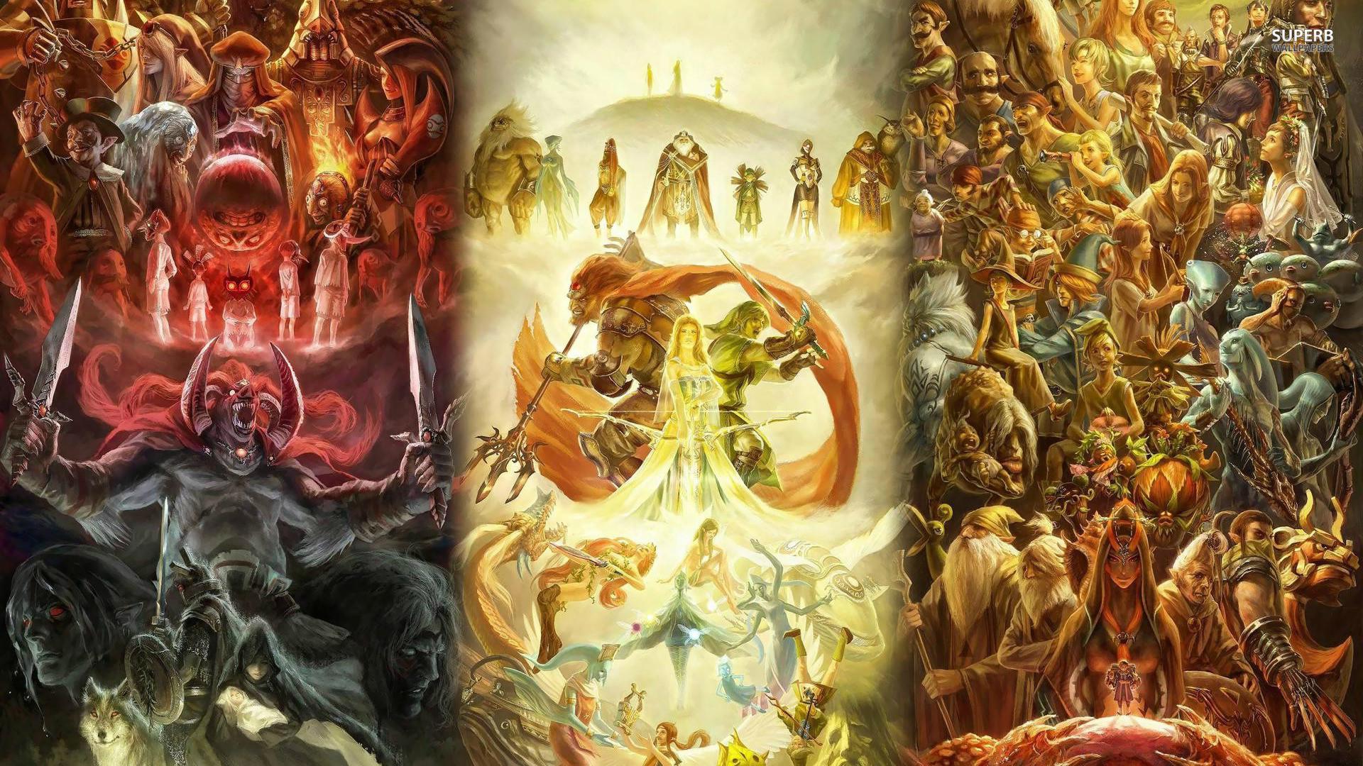 The Legend of Zelda HD Wallpaper.