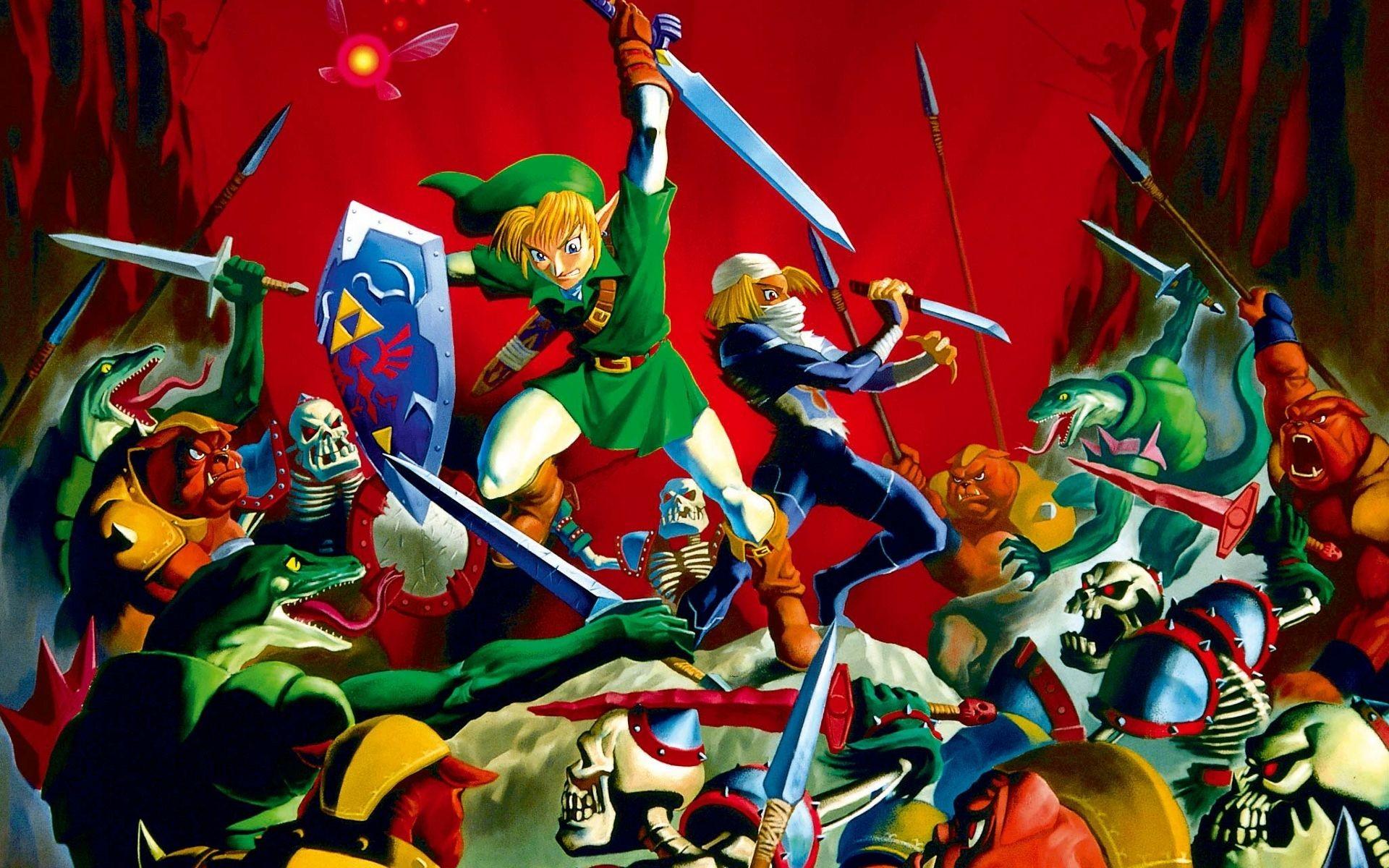 Legend Of Zelda Ocarina Of Time Wallpaper Widescreen