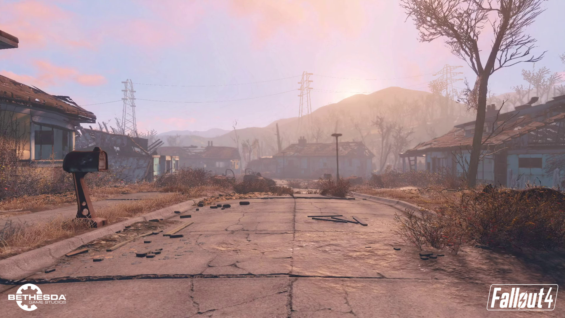 Fallout 4 – Wallpaper Attempts