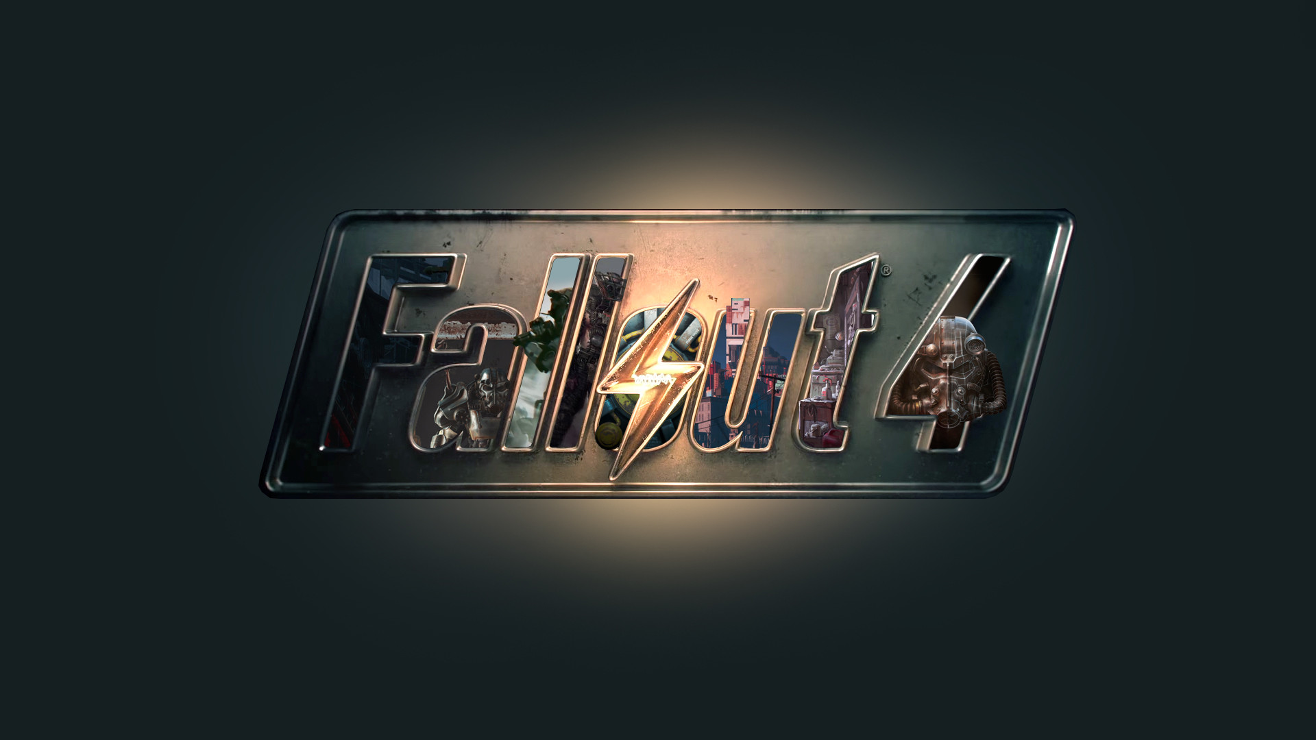 Desktop fallout logo wallpaper backgrounds.