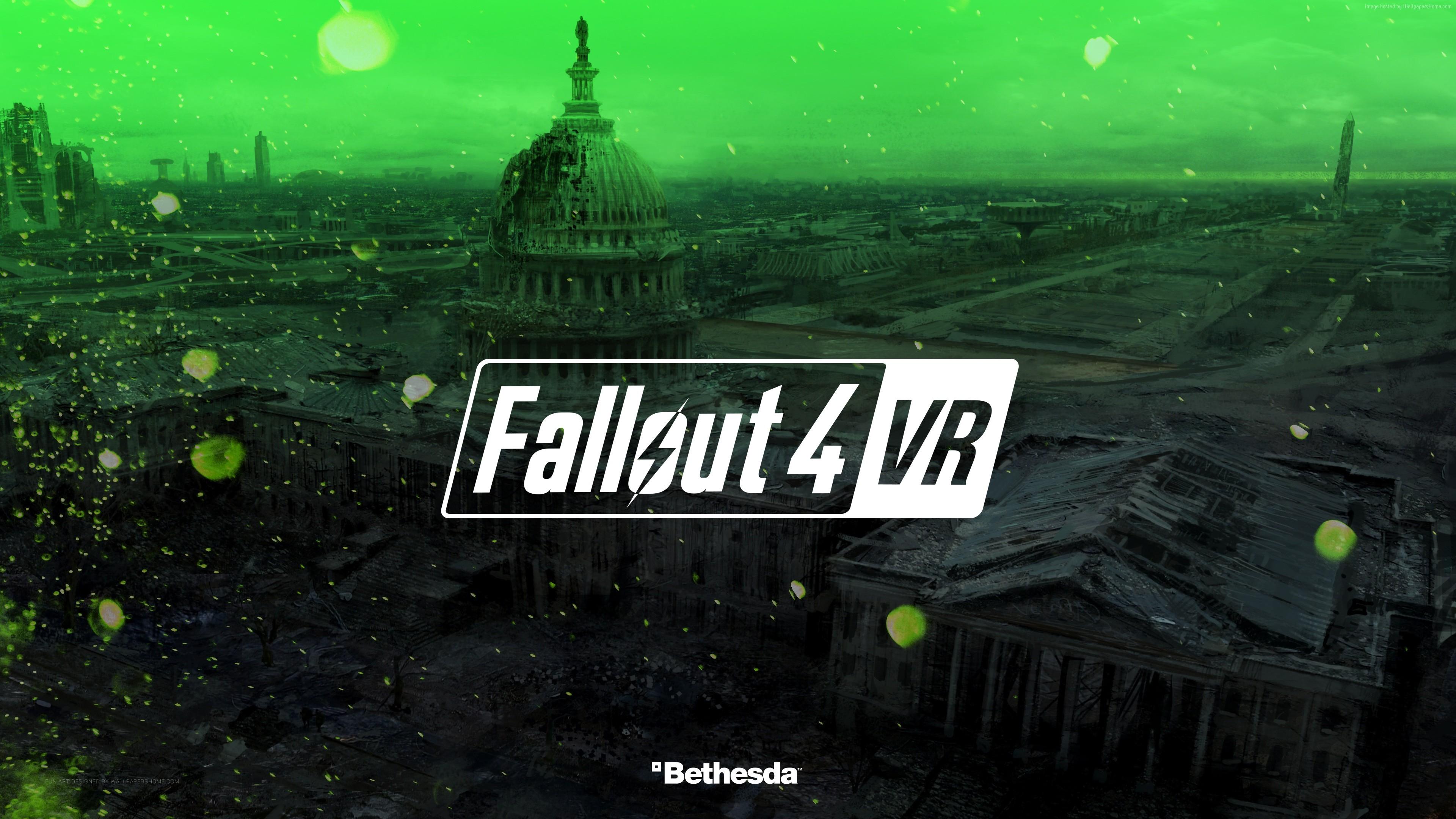 Fallout 4 VR 4K Wallpaper