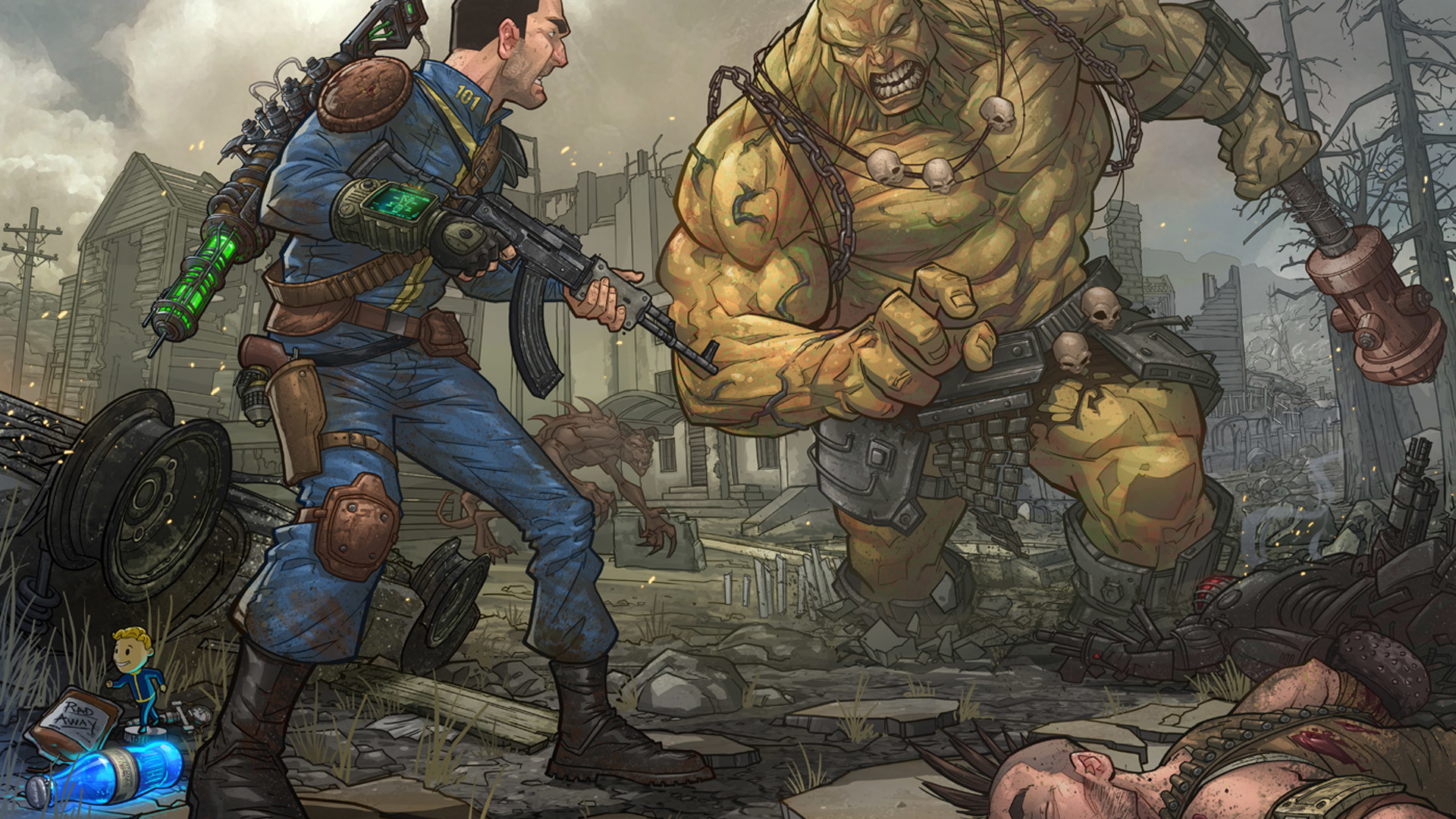 Free Fallout 3 Wallpaper in 1920×1080
