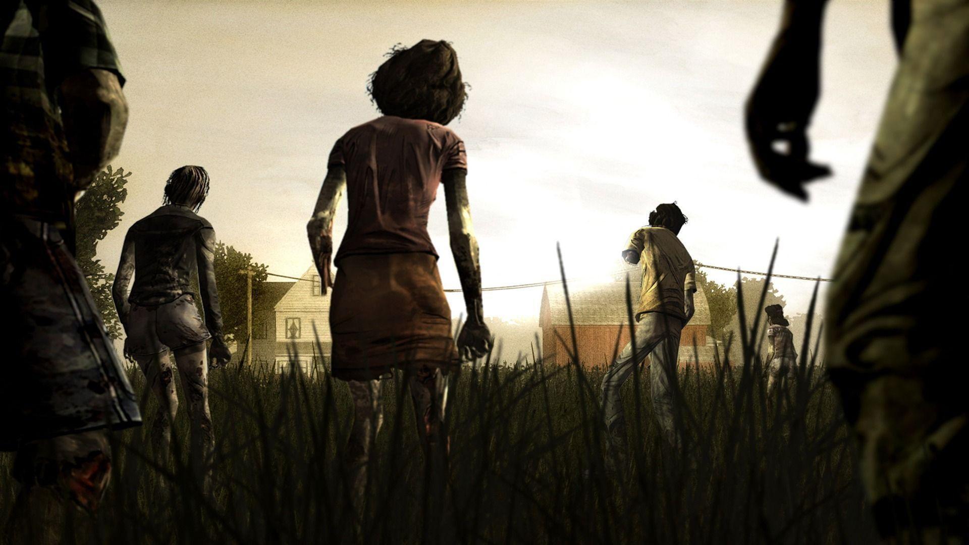 The Walking Dead Game Wallpaper 1920×1080