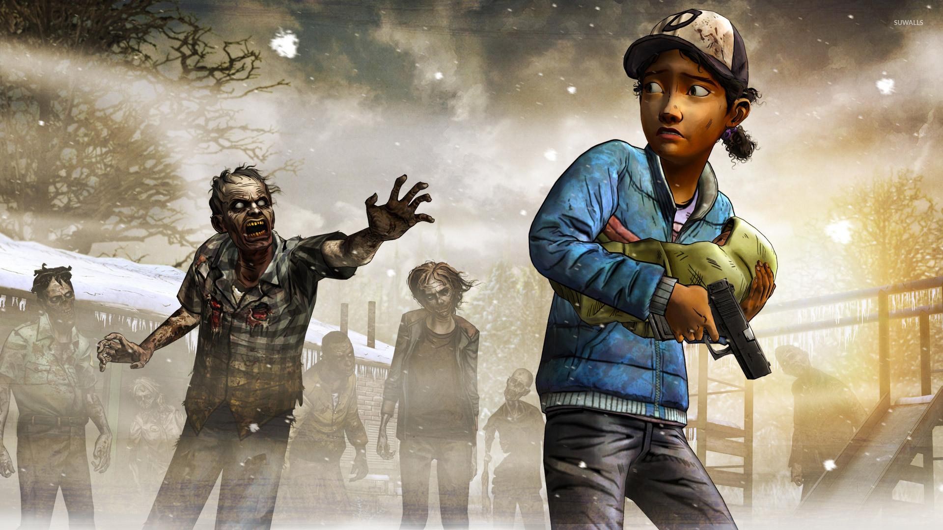 Clementine – The Walking Dead: Season Two wallpaper jpg