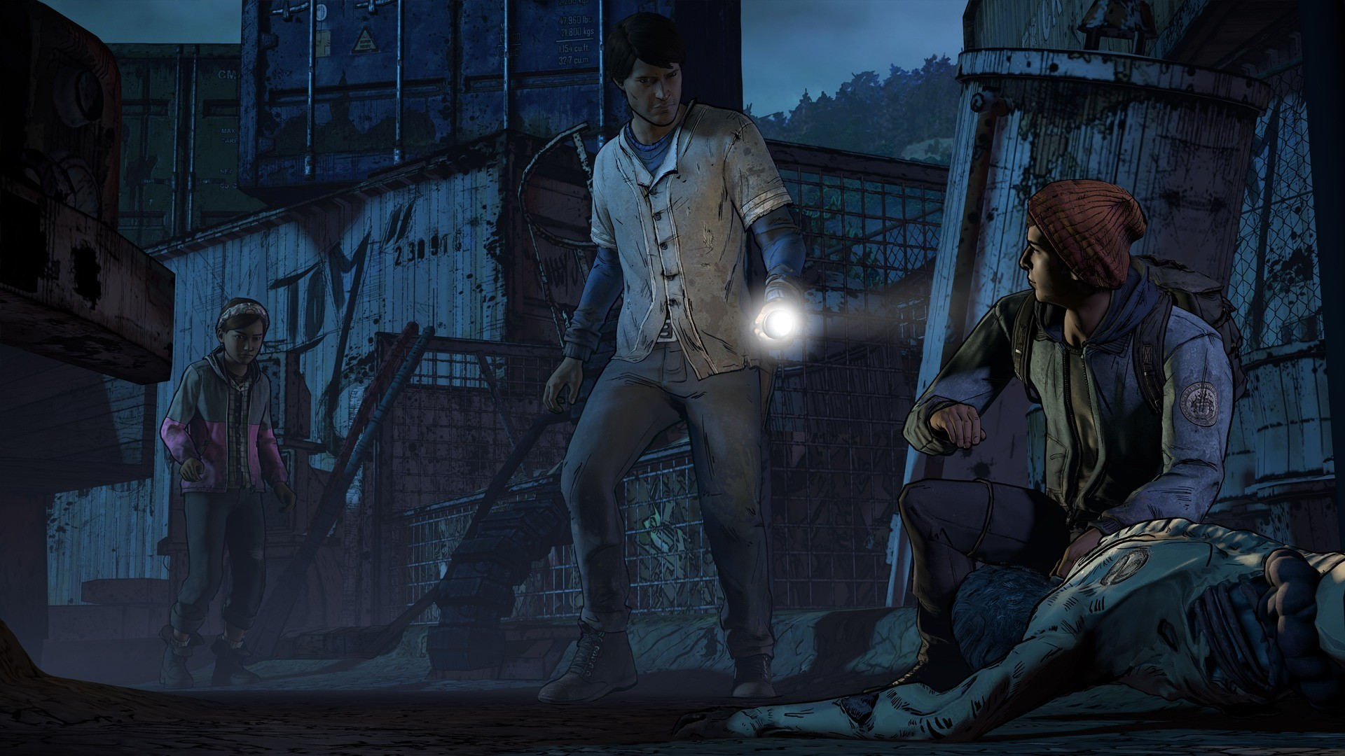 The Walking Dead — A New Frontier image