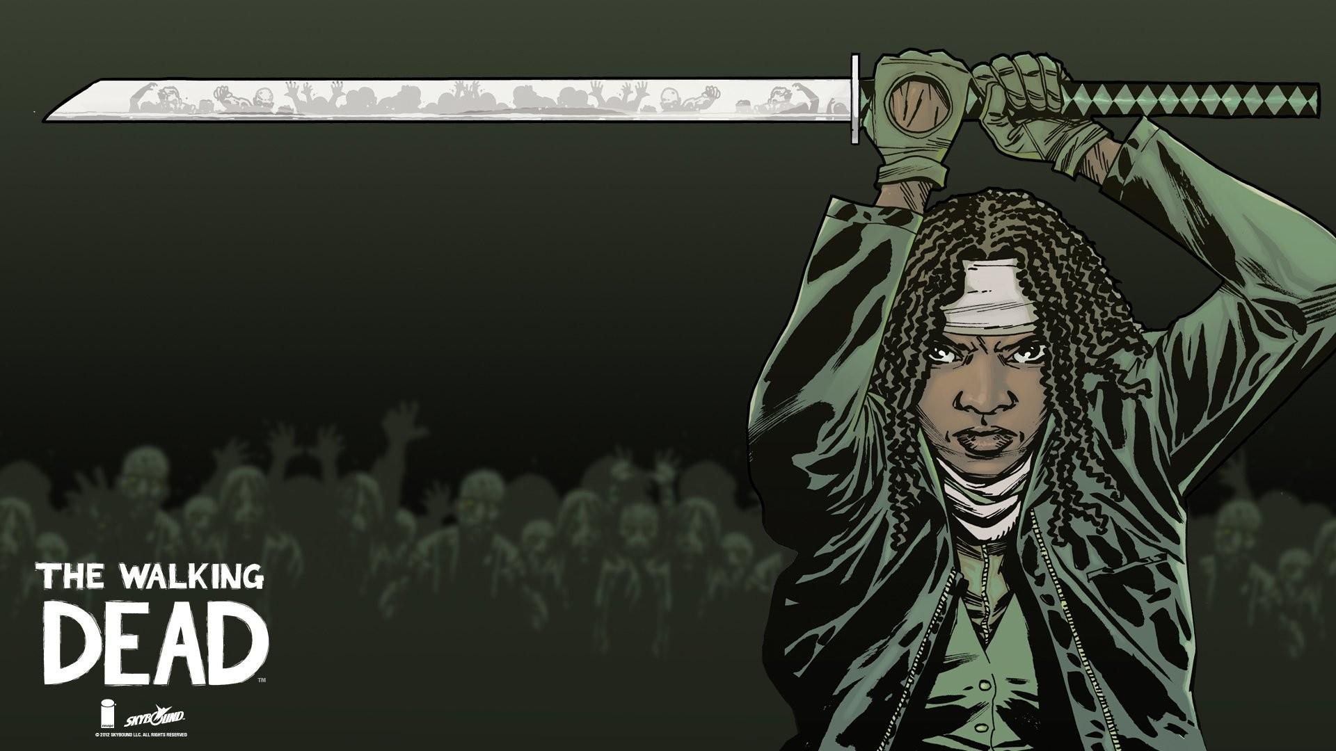 HD Wallpaper   Background ID:589917. Comics The Walking Dead. 2  Like. Favorite
