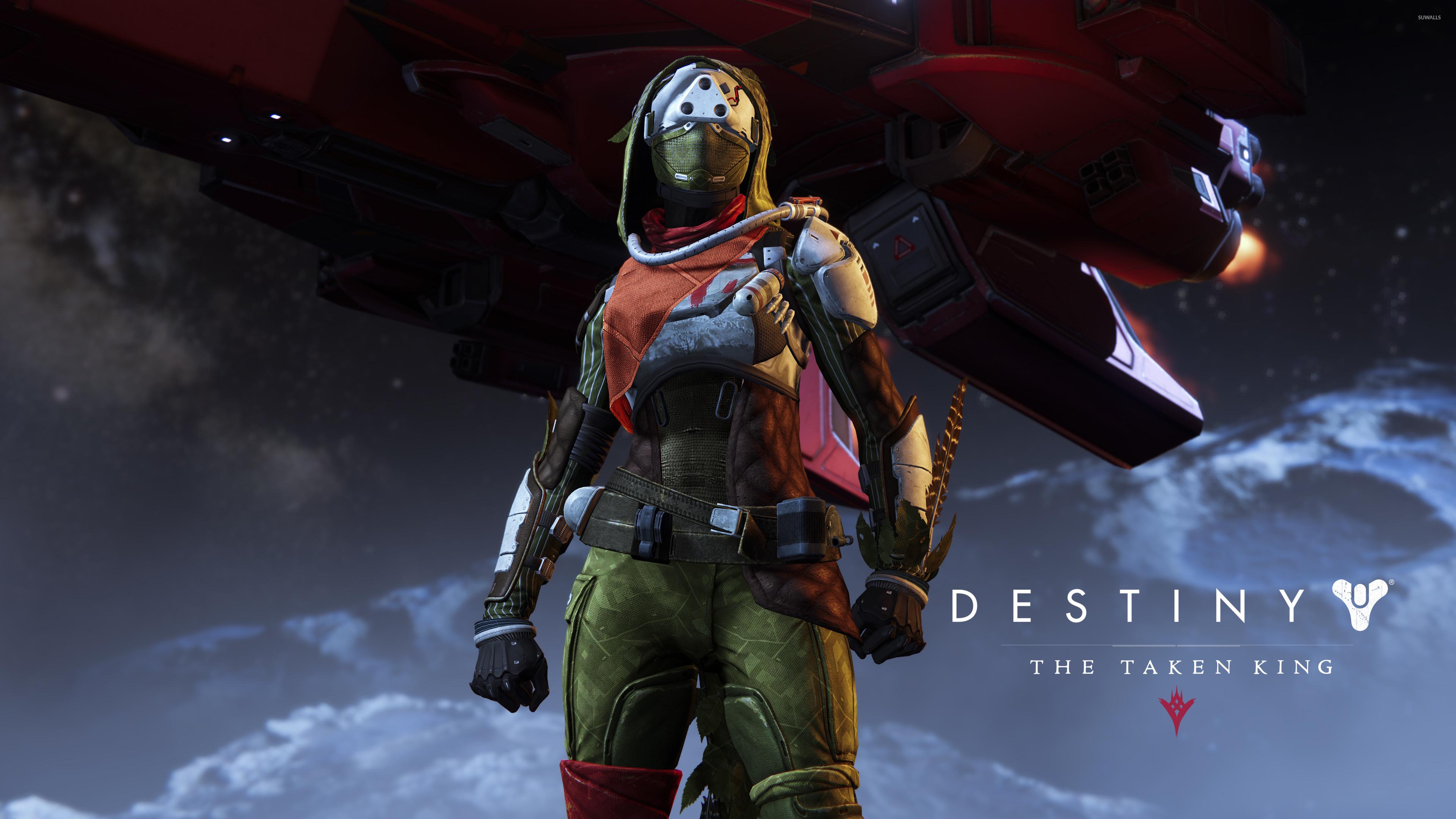 Hunter female – Destiny: The Taken King wallpaper jpg