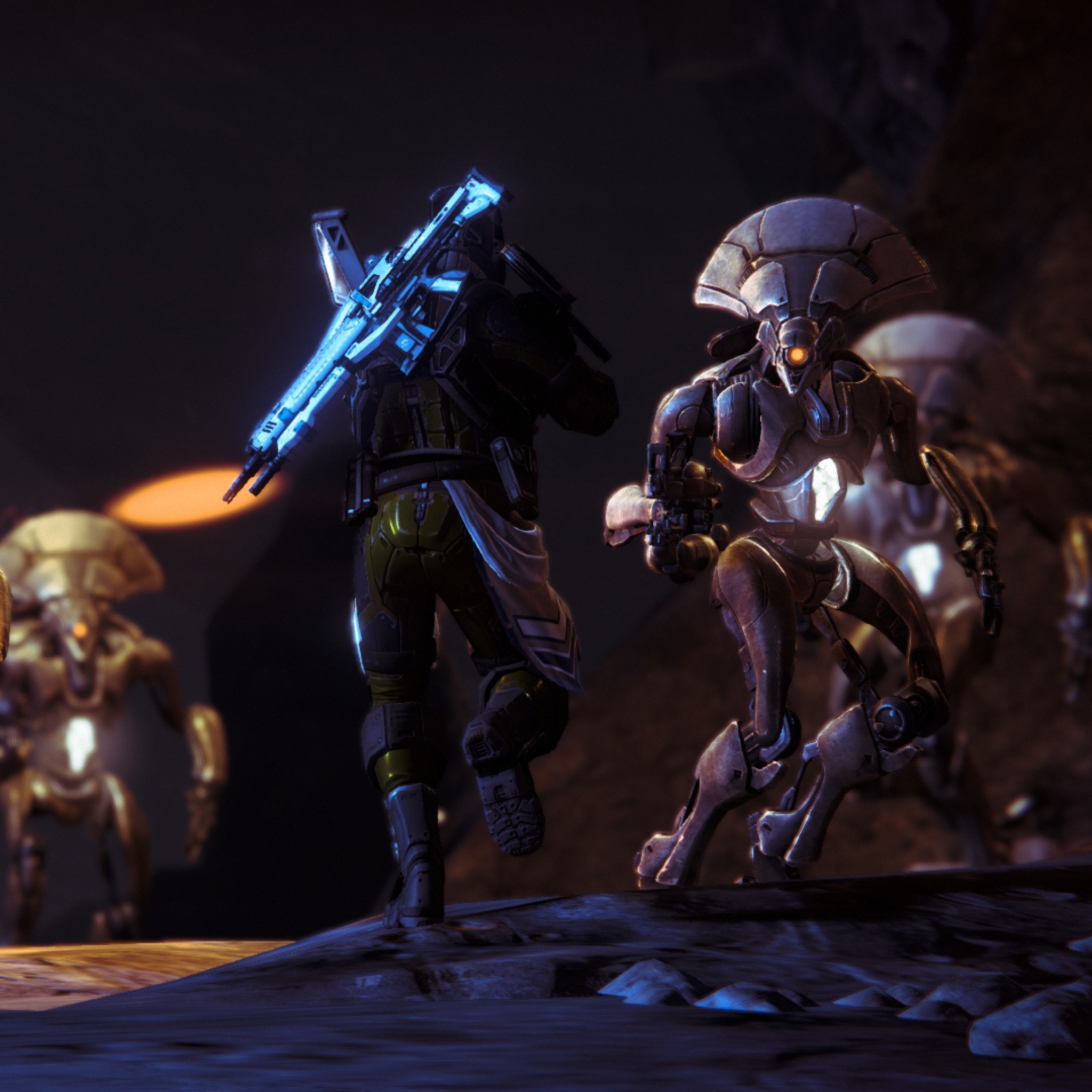 Preview wallpaper destiny, game, characters, 3d 2048×2048