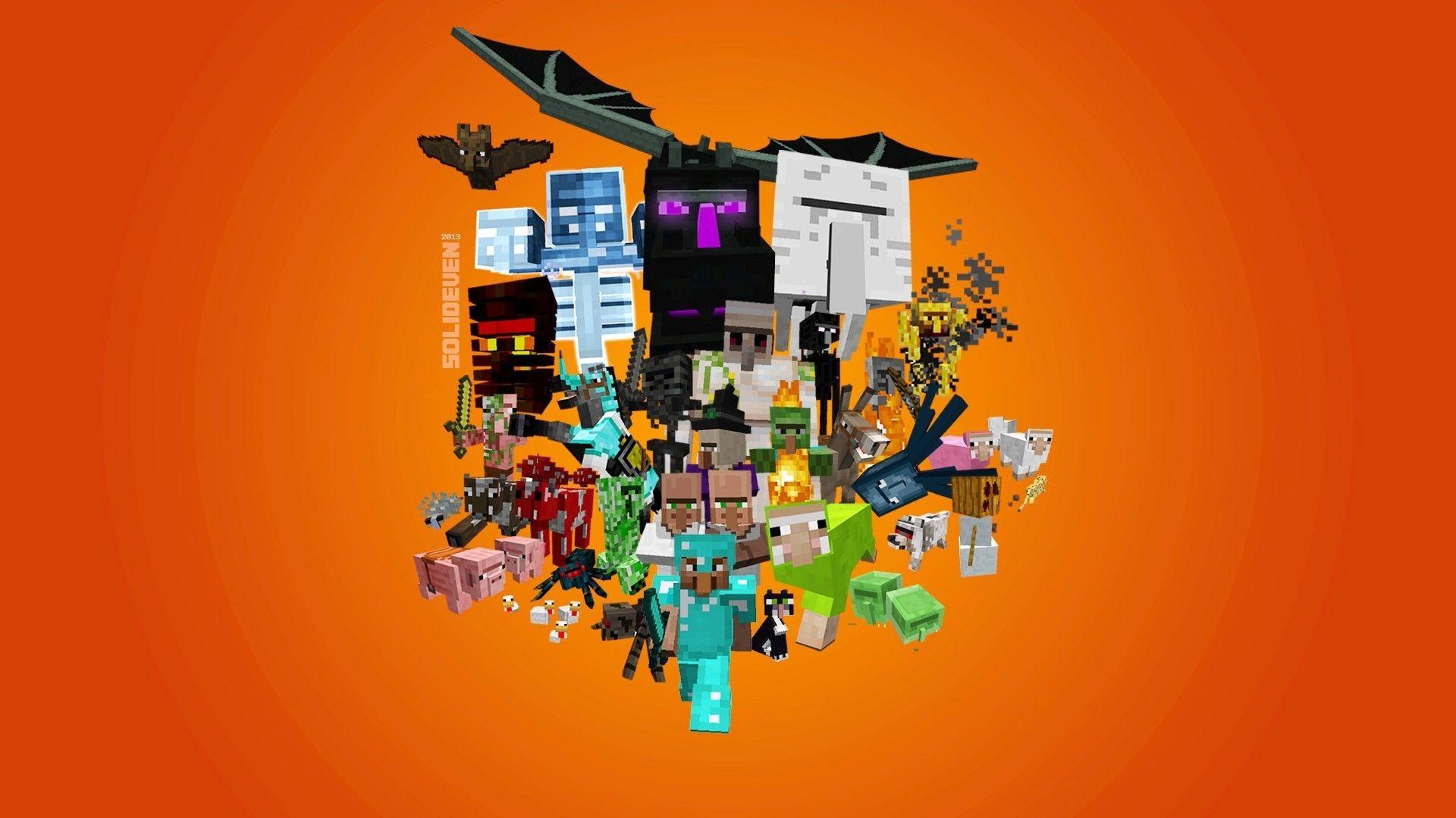 Minecraft Herobrine wallpapers wide