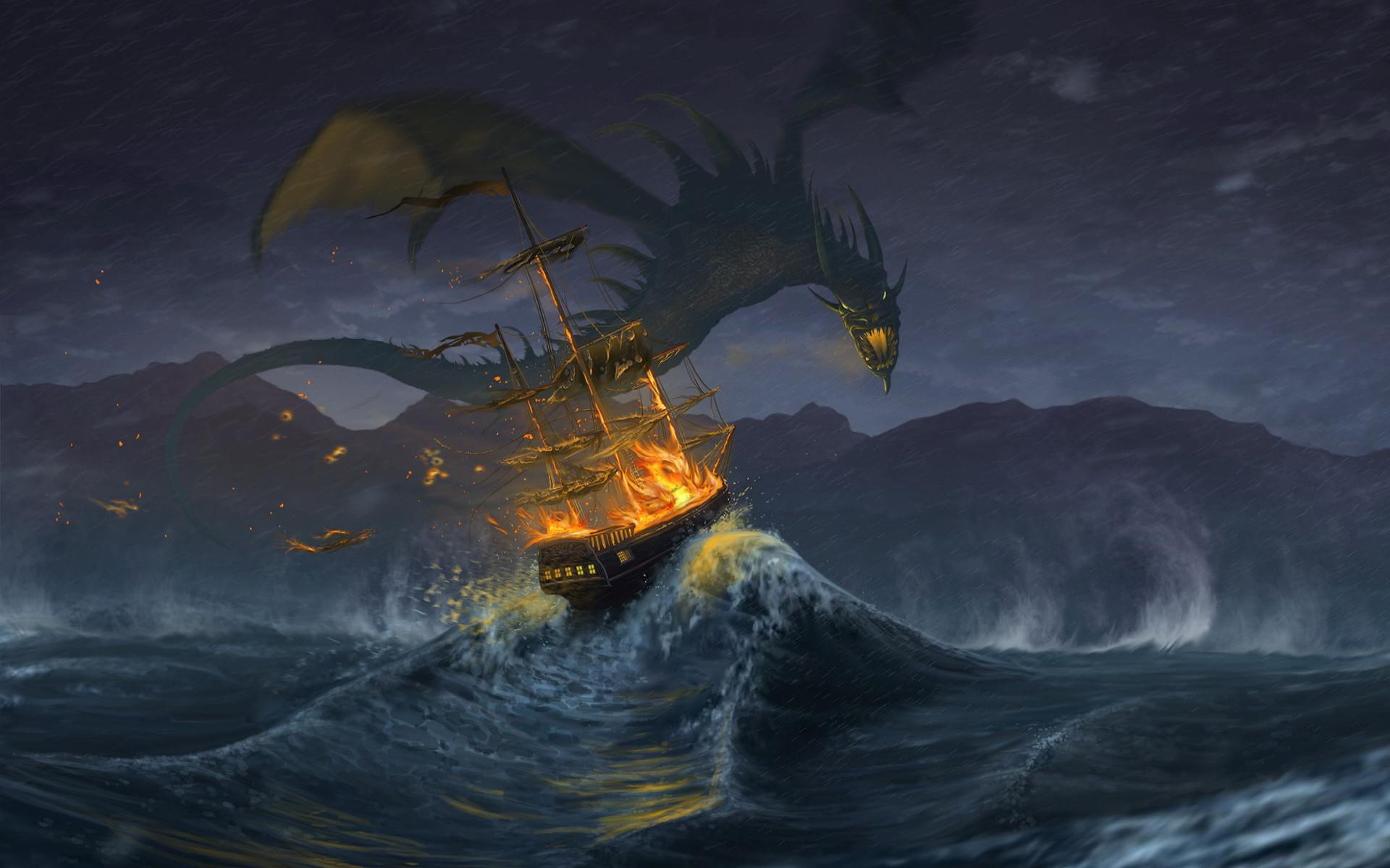Fantasy Dragon Wallpapers Biography Signeduponawhim said: Dragon's  name:Kereros, Scyrthorn, or Warloth Colour:ash-grey and .