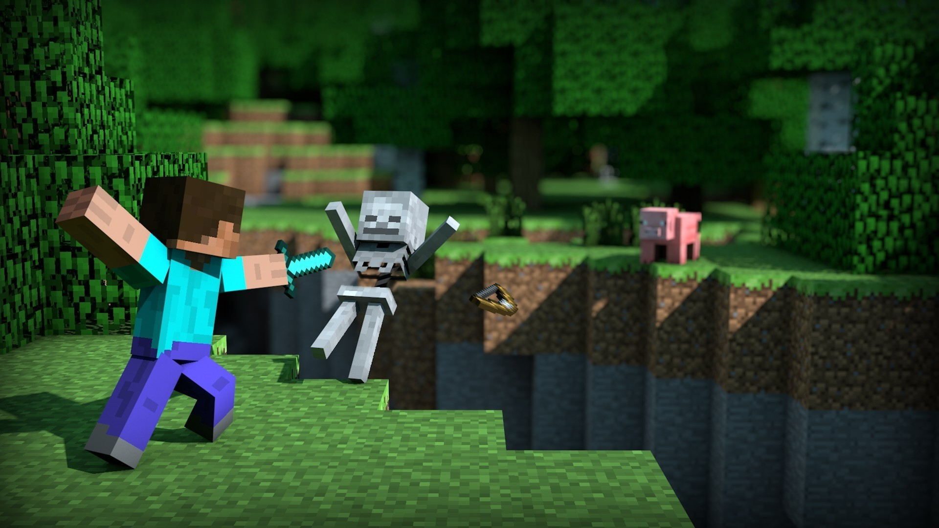 Minecraft Wallpapers Full HD Group 1920×1080 Minecraft Wallpapers HD 1080p  (41 Wallpapers)