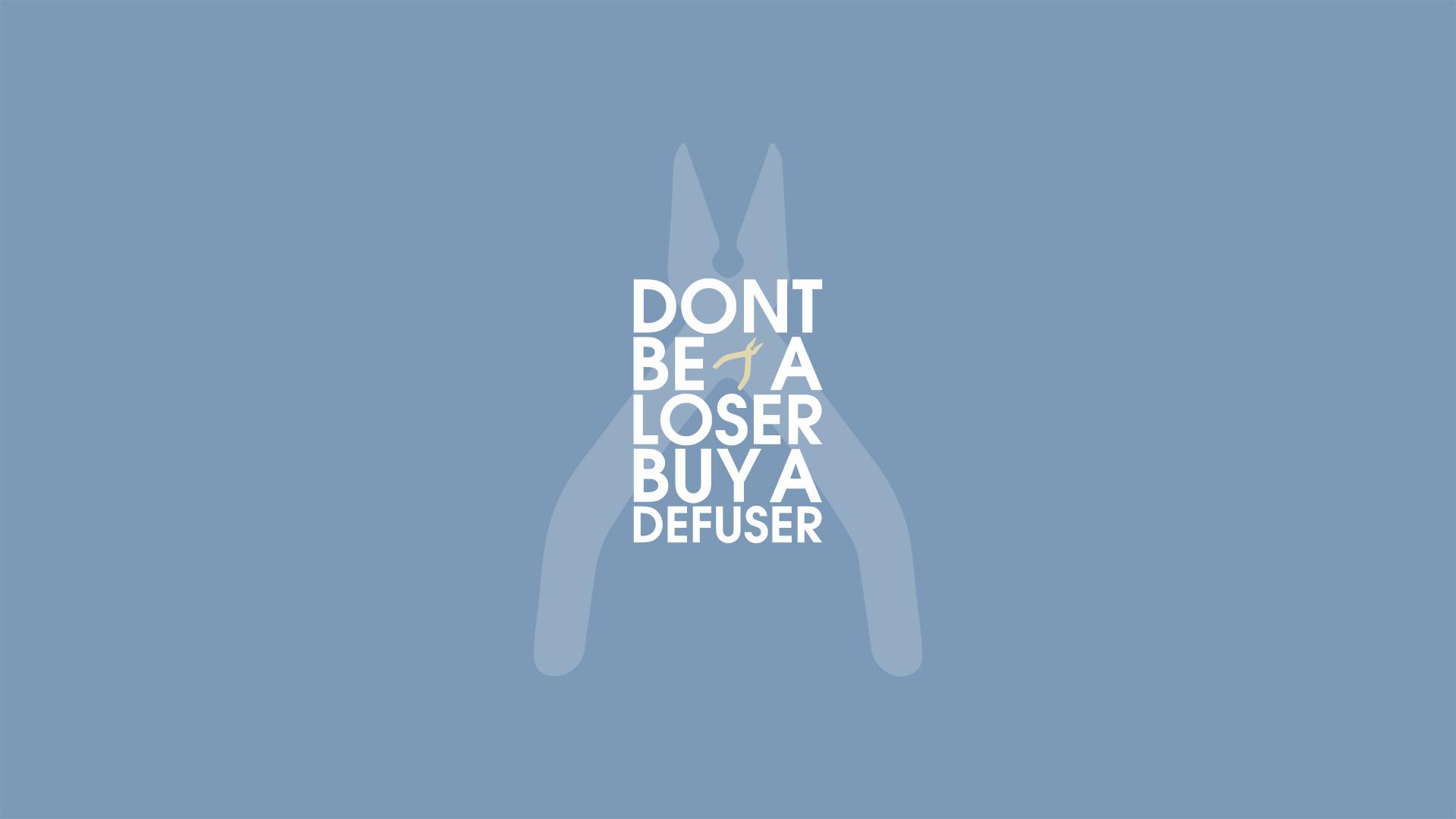 Buy a defuser by /u/BystanderEG …