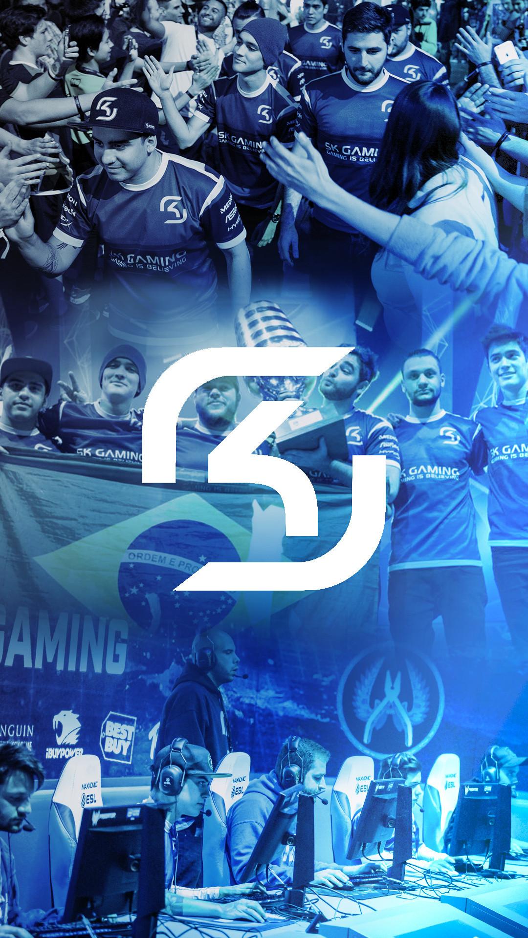 SK Gaming phone wallpaper