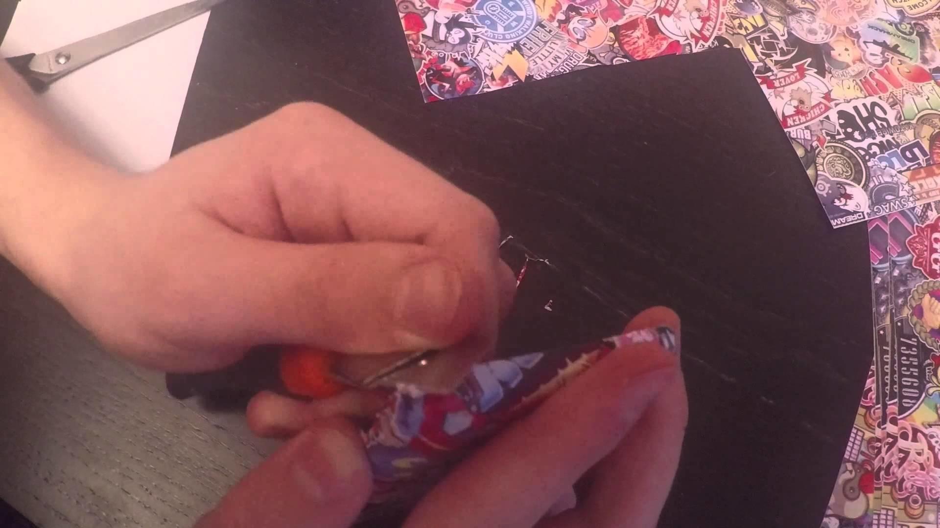 CS GO Phone Sticker Bombing