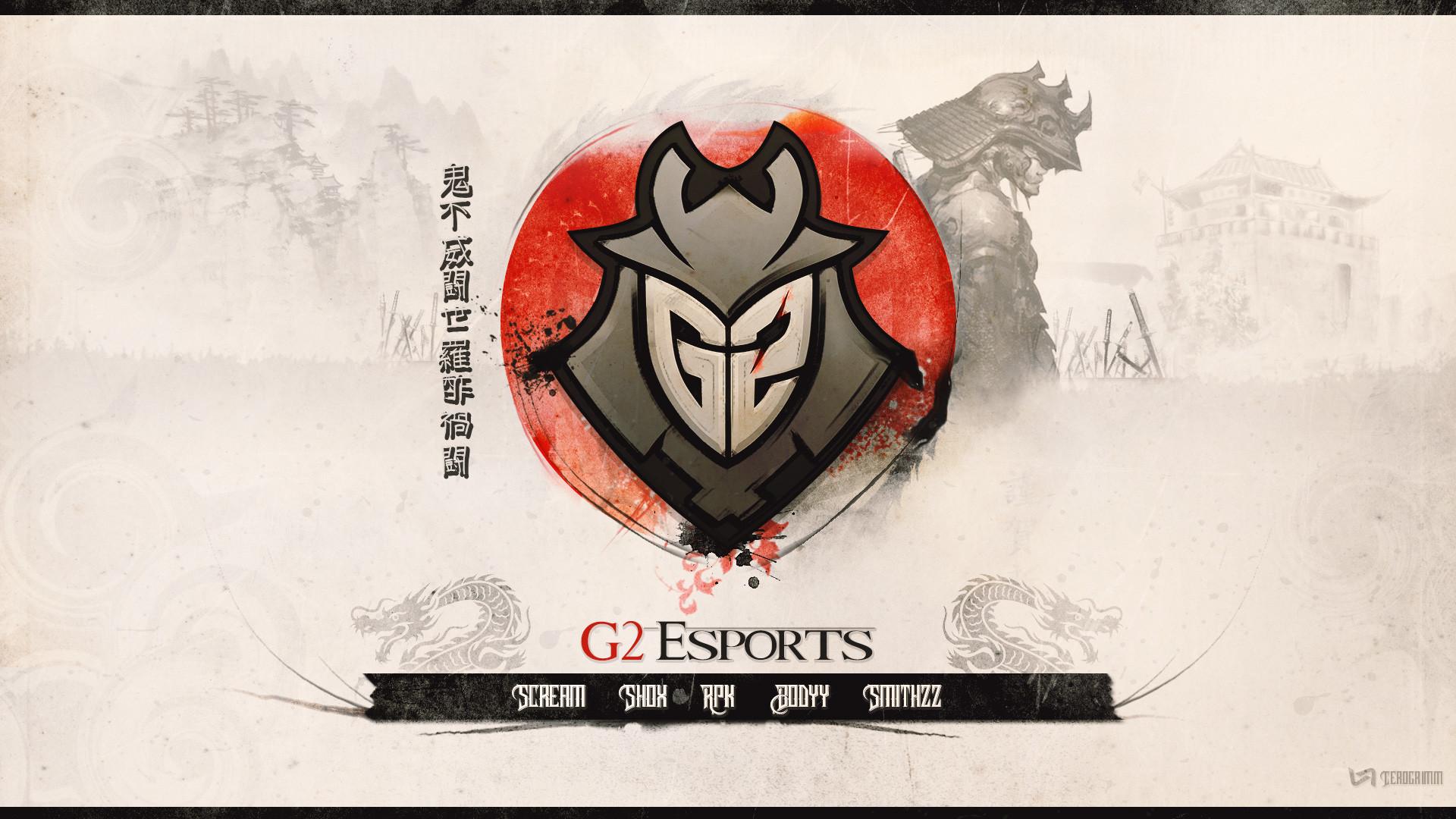 G2 CS:GO wallpaper by Cerogrimm