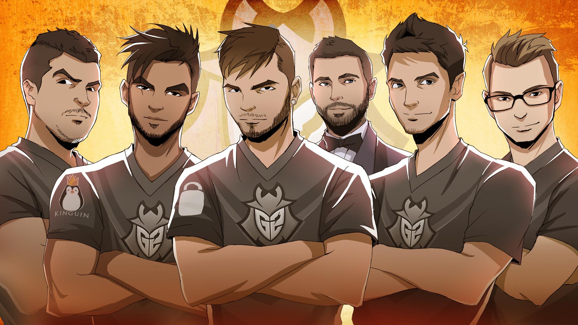 G2 Esports updated CS:GO wallpaper
