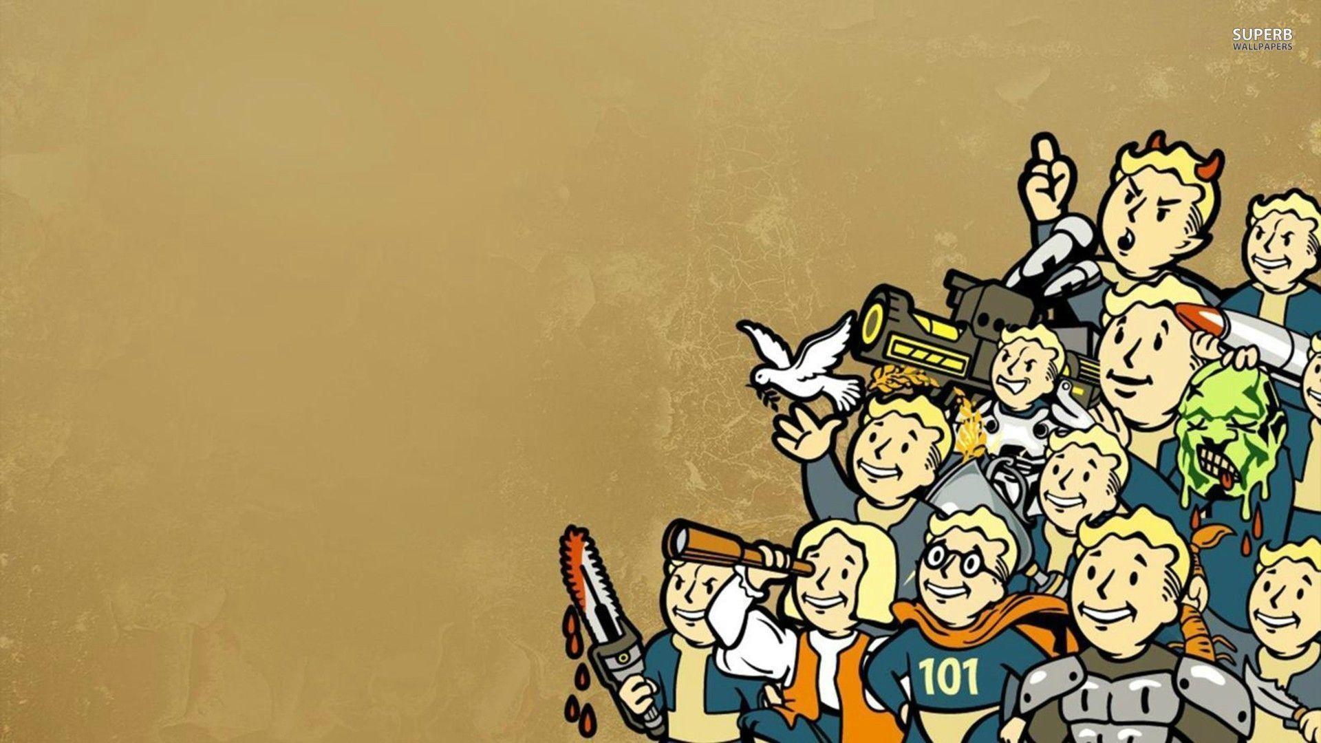 Vault Boy – Fallout wallpaper – Game wallpapers – #