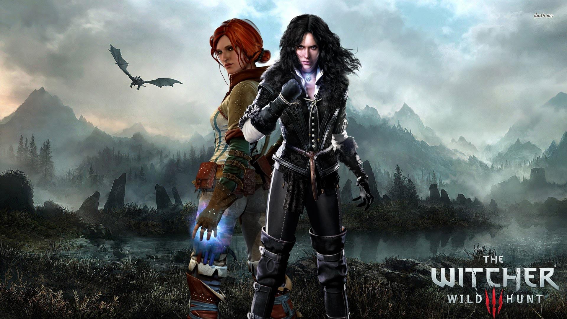The Witcher 3: Wild Hunt, Triss Merigold, Yennefer Of Vengerberg Wallpapers  HD / Desktop and Mobile Backgrounds