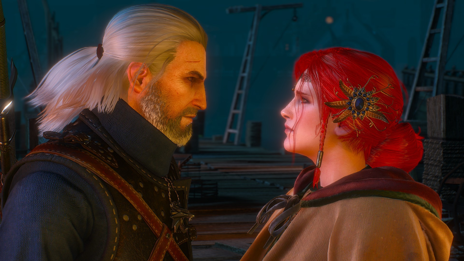 … The Witcher 3 Geralt and Triss Wallpaper by Crishark