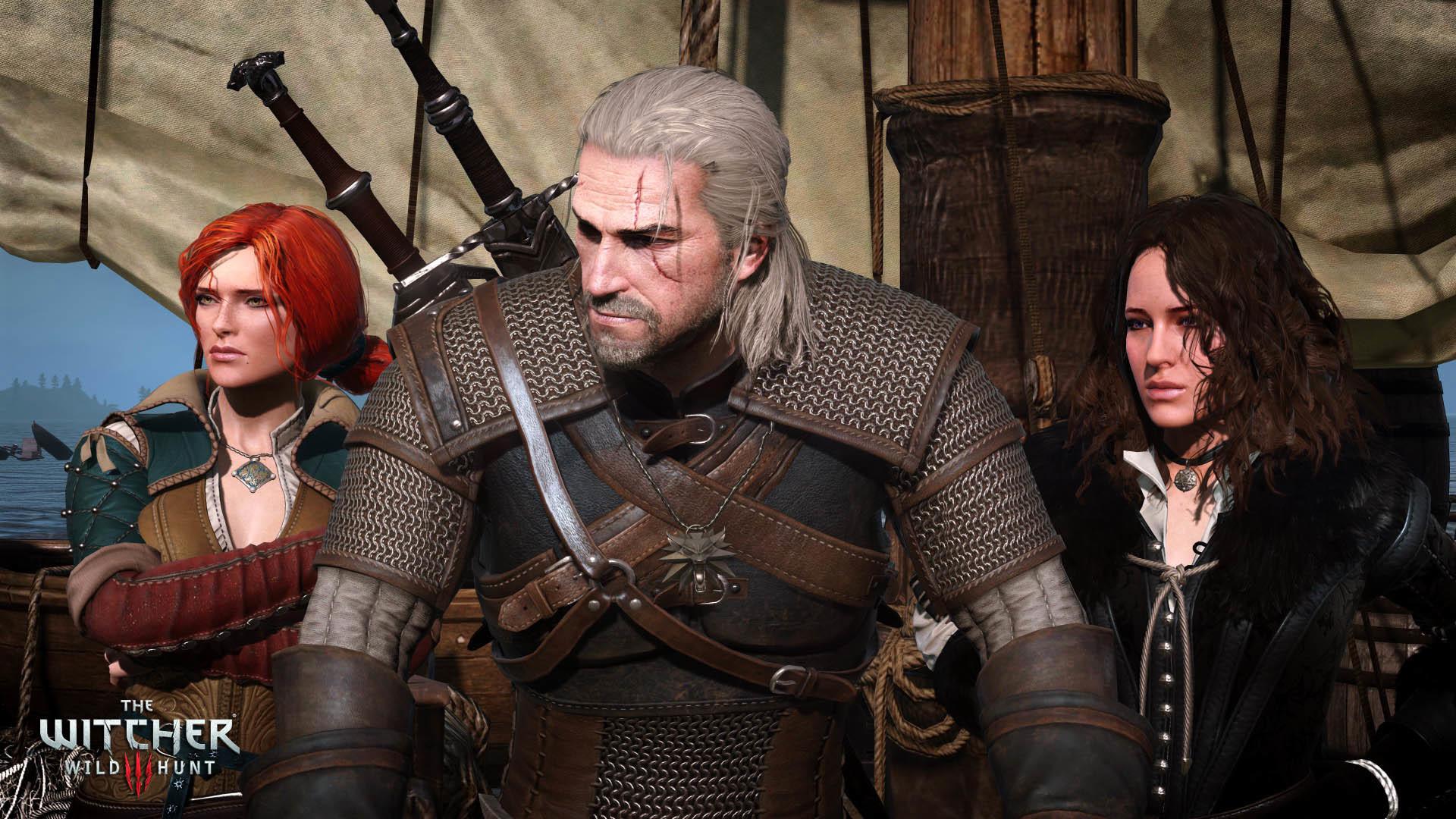 Triss, Geralt & Yennefer – The Witcher 3: Wild Hunt wallpaper