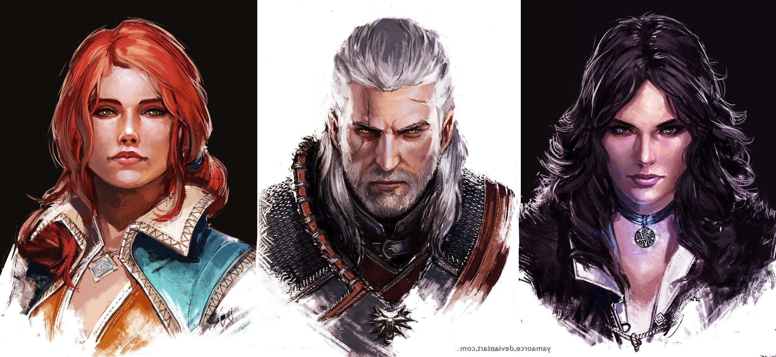 The Witcher 3: Wild Hunt, Geralt Of Rivia, Yennefer Of Vengerberg, Triss  Merigold Wallpapers HD / Desktop and Mobile Backgrounds
