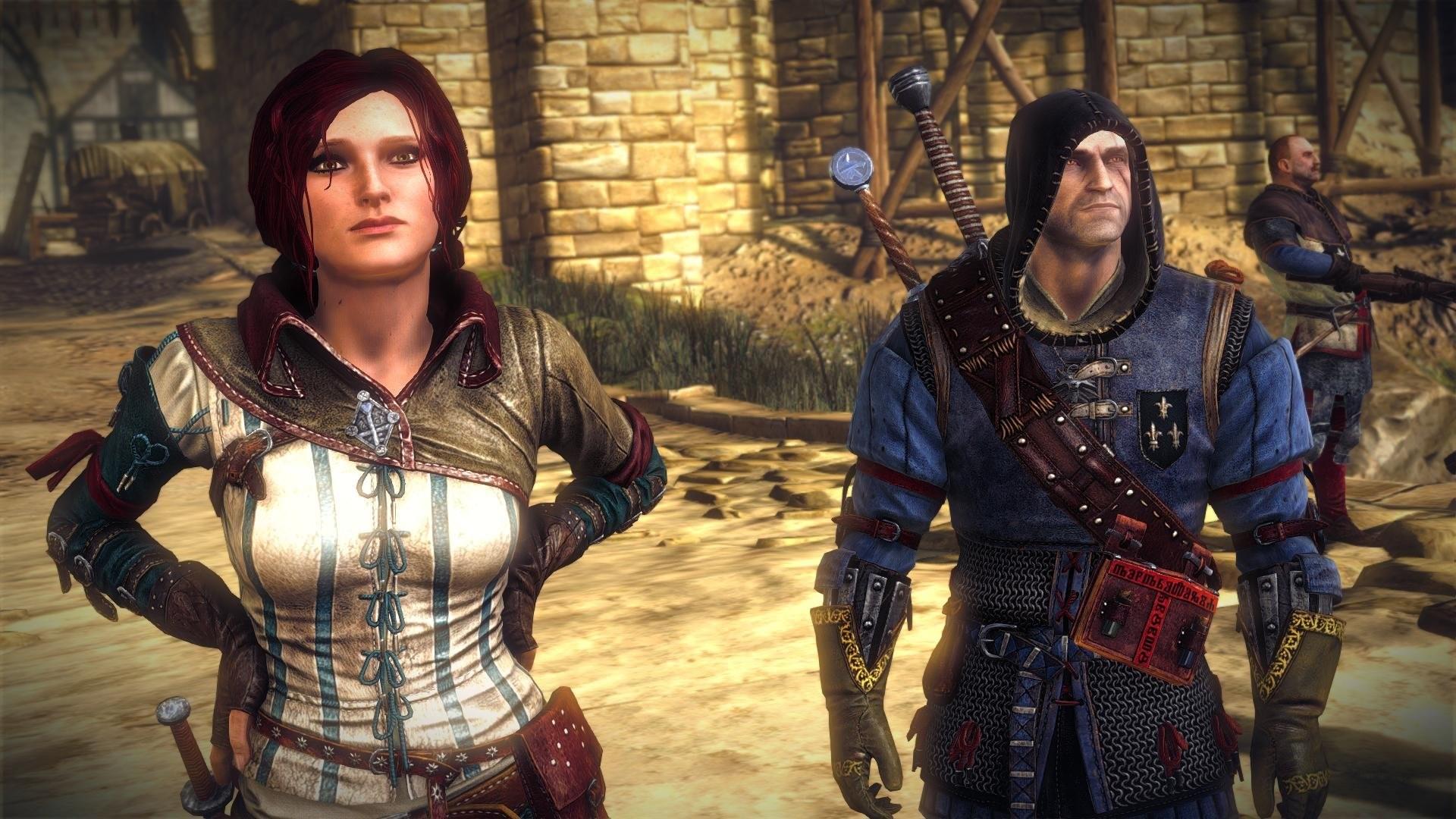 The Witcher 2 Assassins of Kings Geralt Triss Merigold wallpaper |  | 690524 | WallpaperUP