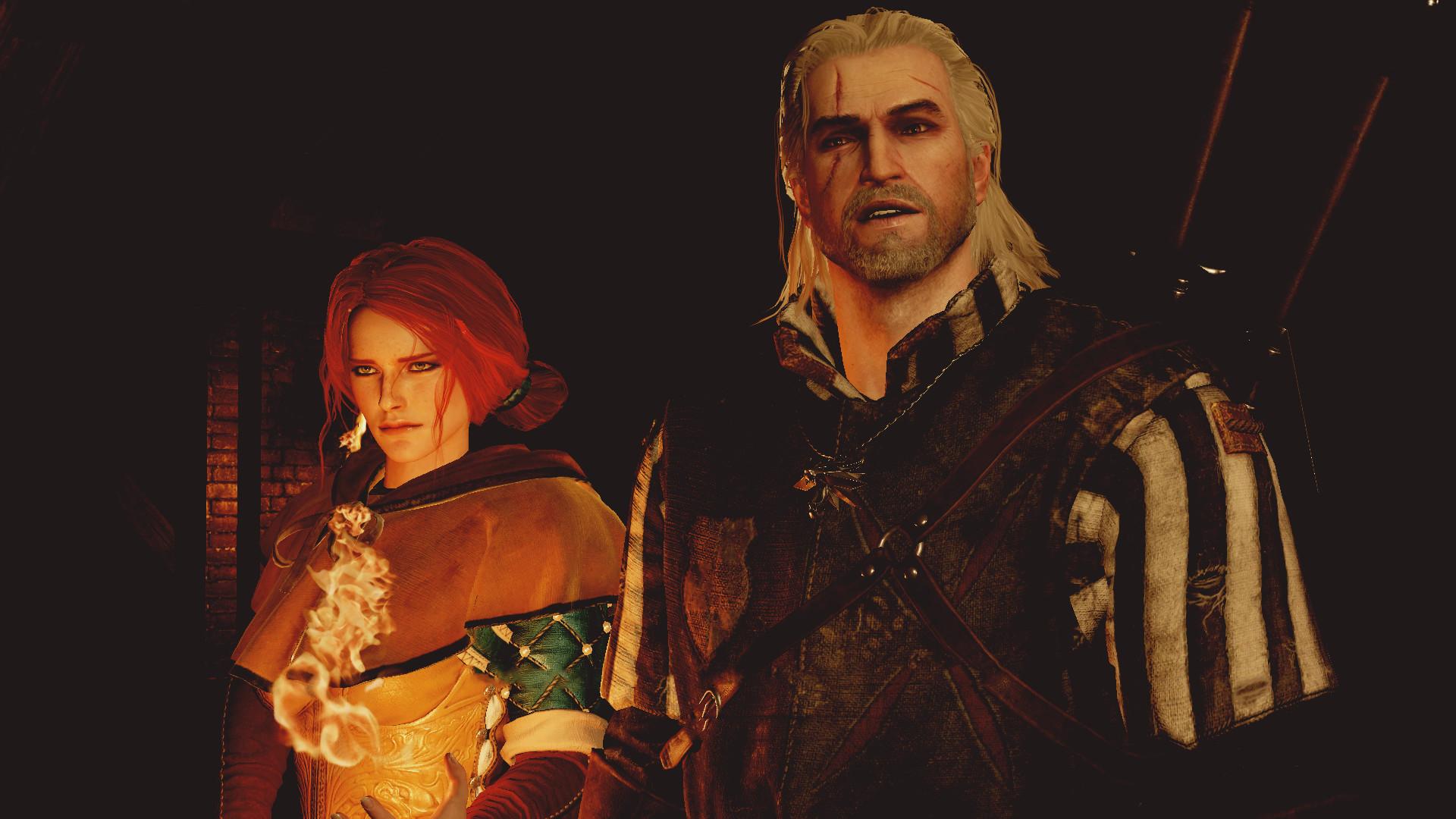 video Games, The Witcher 3: Wild Hunt, Geralt Of Rivia, Triss Merigold