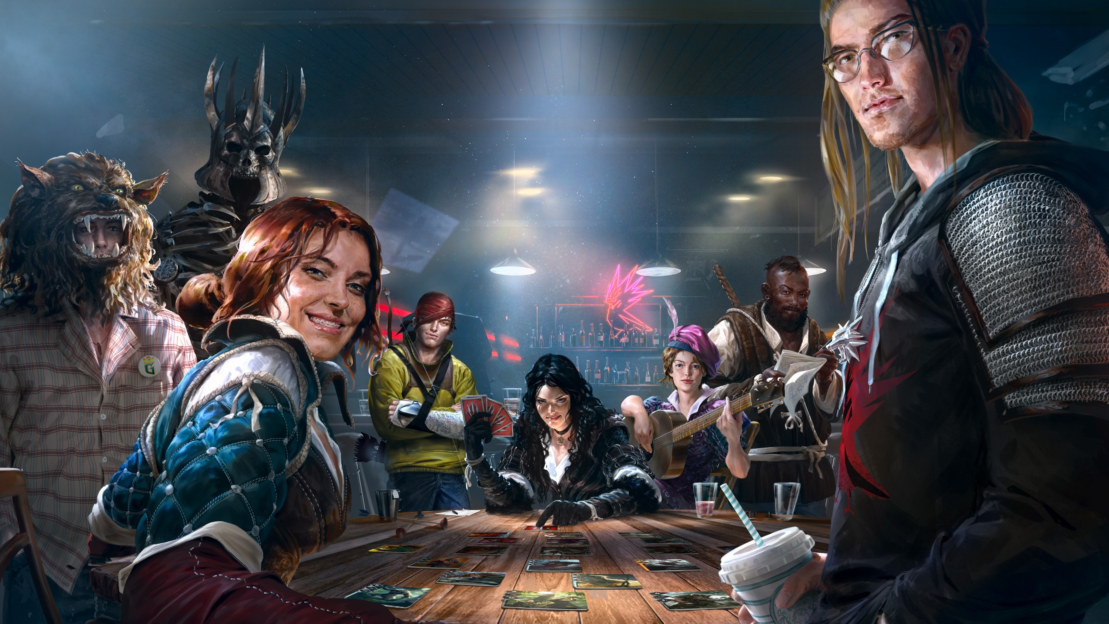 General The Witcher Trading Card Games Gwent The Witcher 3: Wild  Hunt Triss Merigold