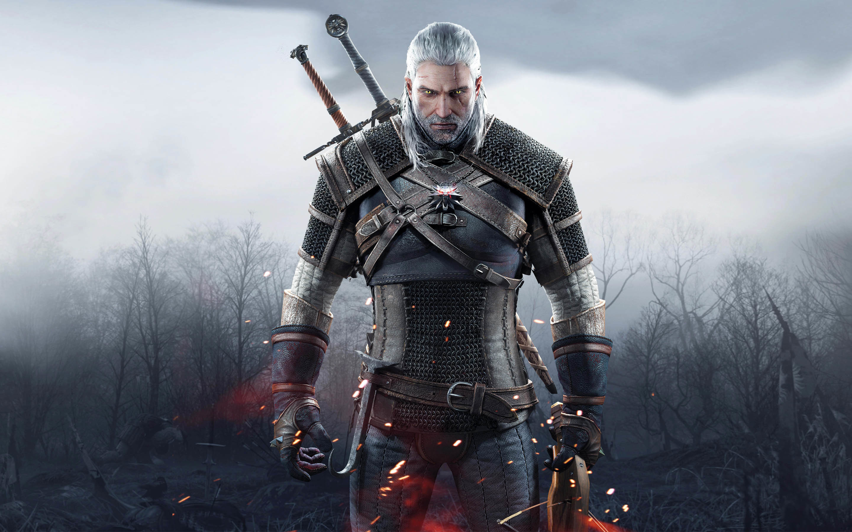 Geralt of Rivia – The Witcher 3: Wild Hunt wallpaper