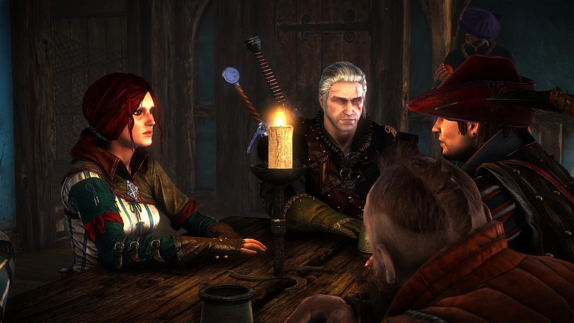 The Witcher 2 Assassins of Kings Dandelion Zoltan Chivay Geralt Triss  Merigold wallpaper | | 696593 | WallpaperUP