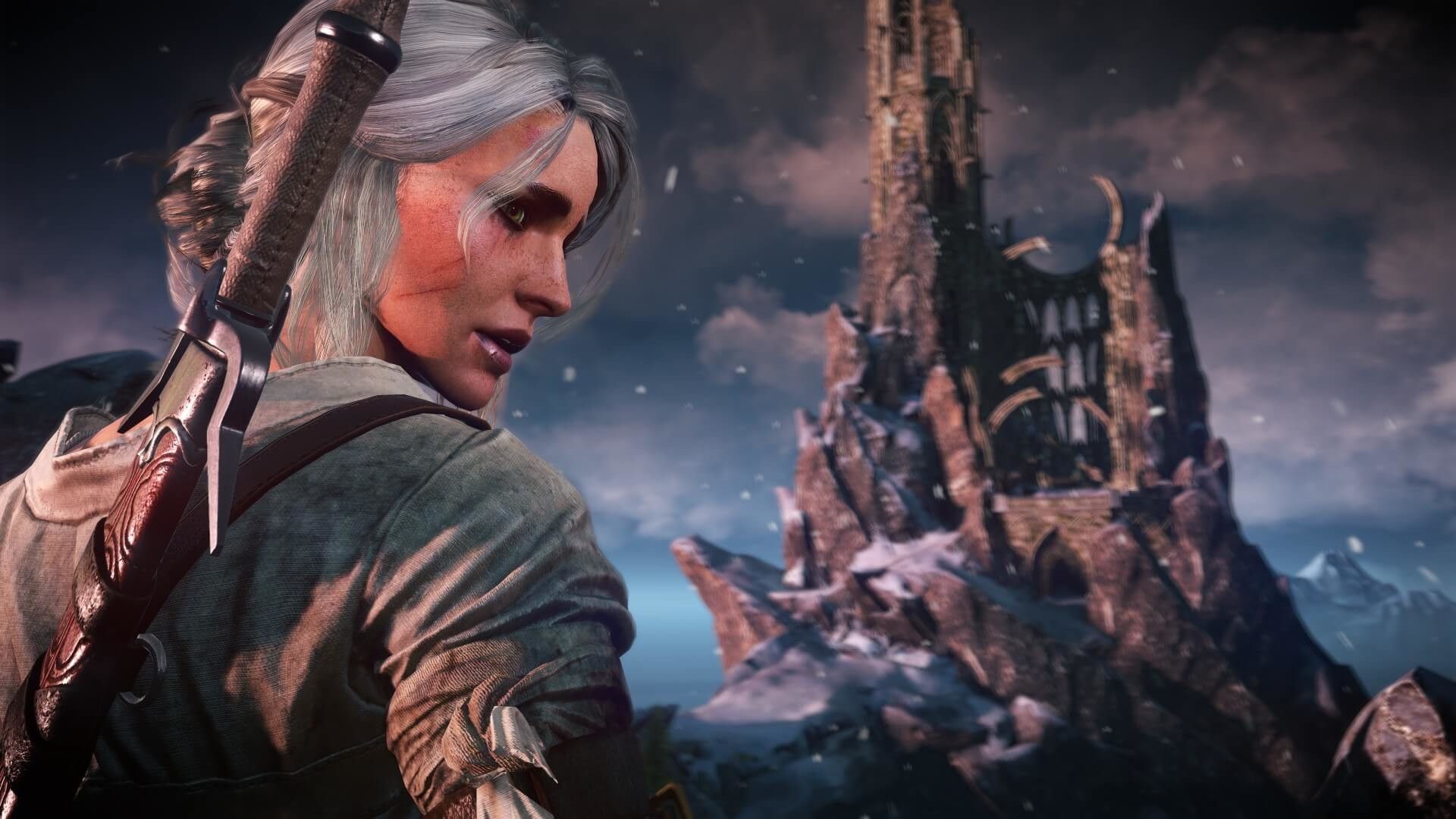 … The Witcher 3: Wild Hunt Ciri Screenshot …