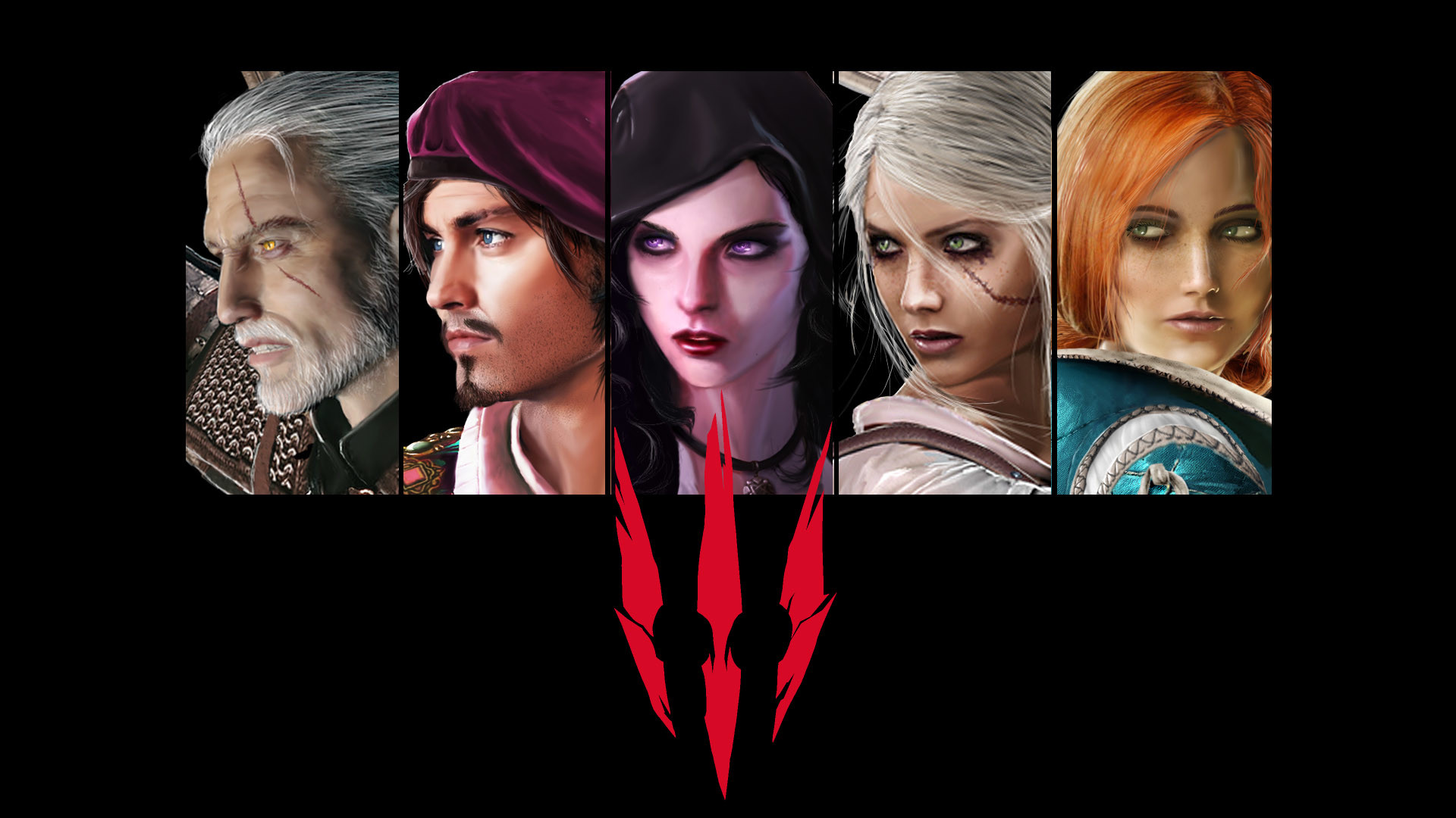 The Witcher 3Interesting HD fanmade Wallpaper.