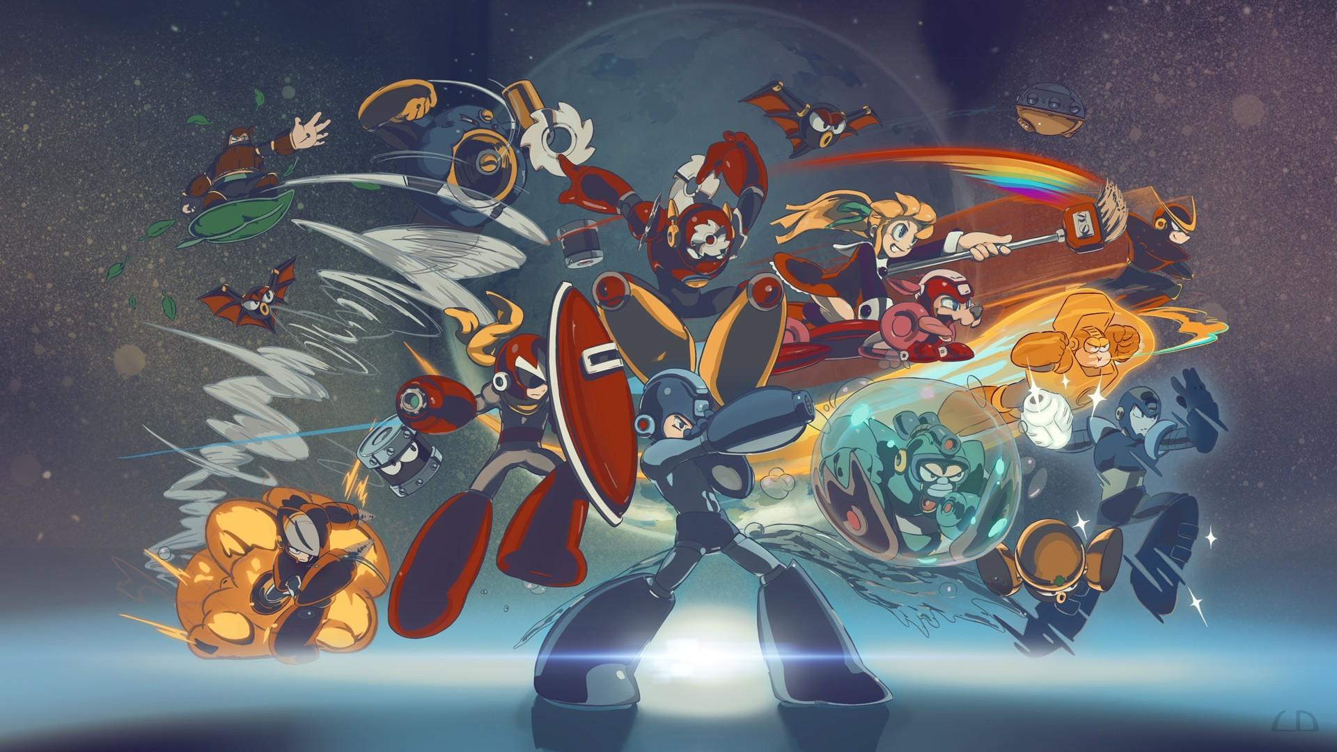 Megaman Wallpaper HD Free Download.