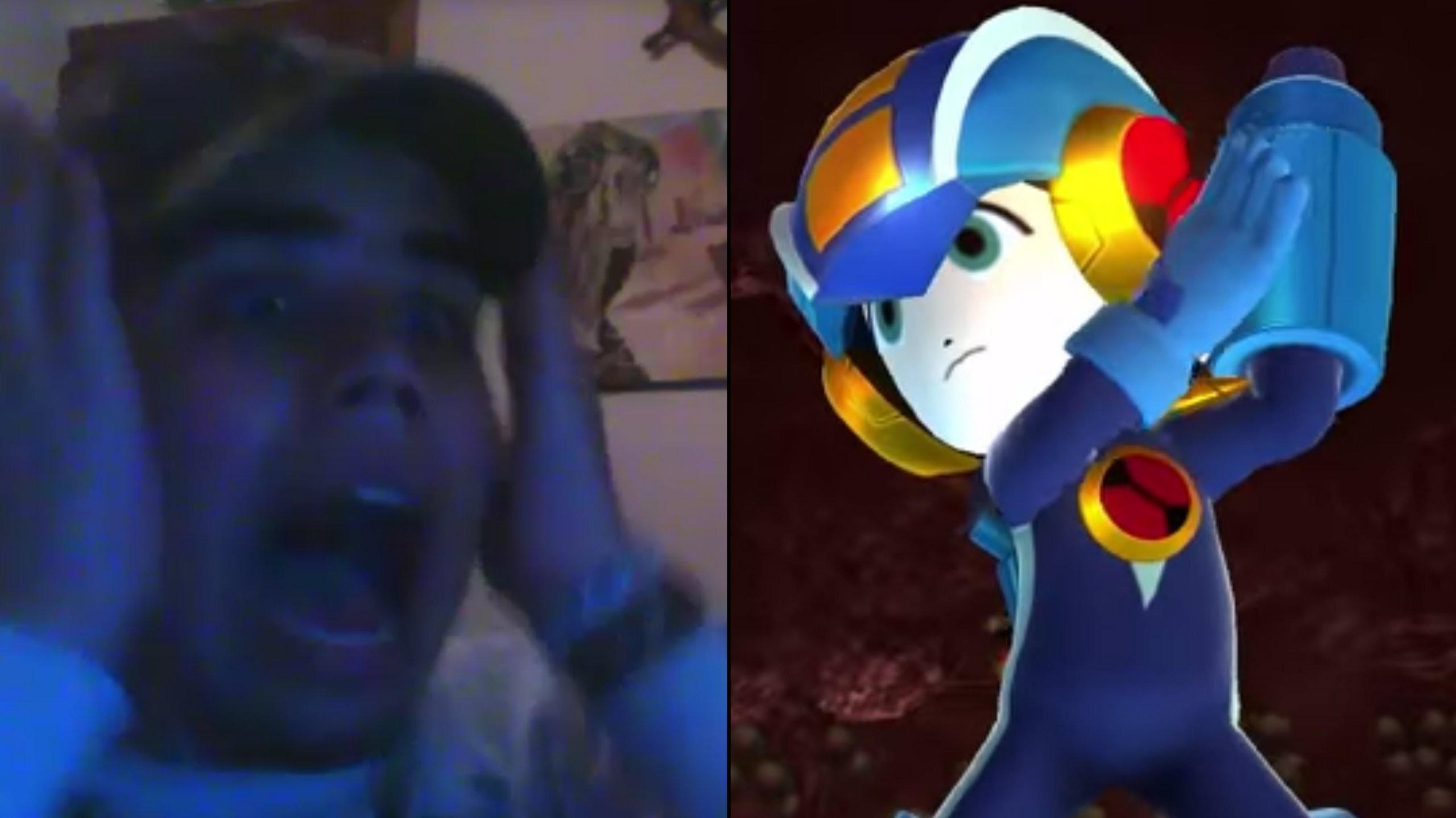 Mega Man.EXE, Zero & Virtua Fighter Mii Outfits LIVE REACTION! – Super  Smash Bros. Wii U